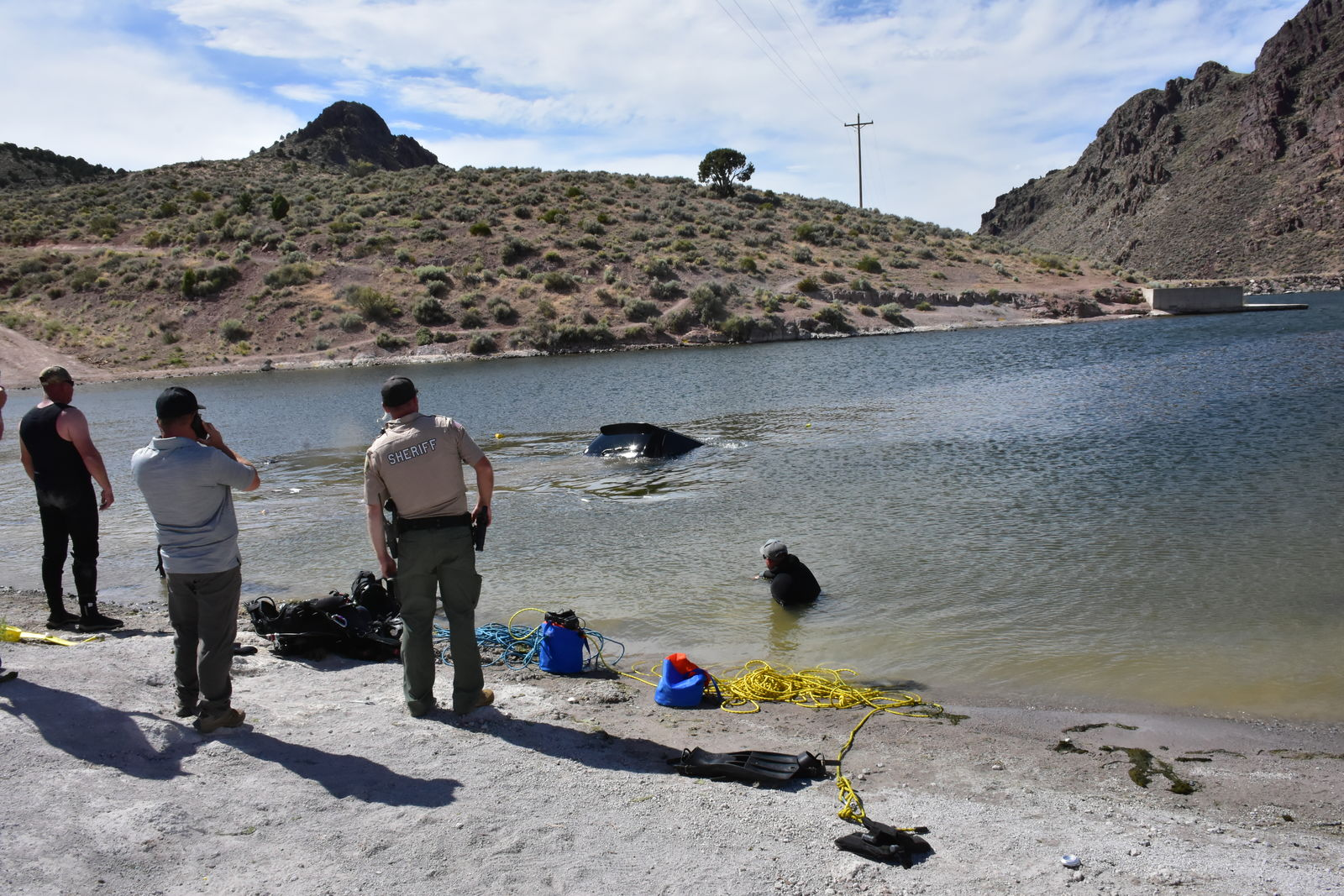 A man's body was pulled from Newcastle Reservoir on Saturday morning and the Iron County Sheriff's Office believes alcohol was a factor in the death. (Photo: Iron County Sheriff's Office)