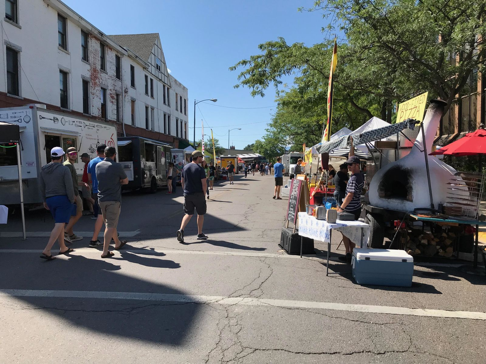 This year the River City Roots Festival has up to 20 different local food vendors (Photo: NBC Montana){&nbsp;}<p></p>