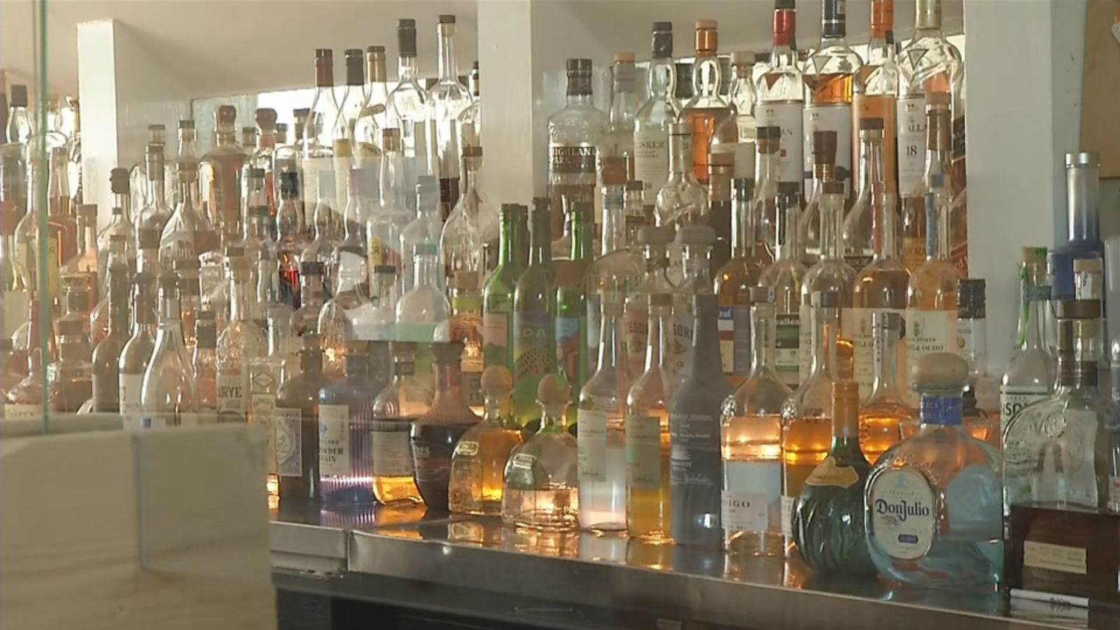 Gov. Gina Raimondo said Wednesday, Aug. 5, 2020, that all bars and bar areas to close by 11 p.m. each night, starting Friday. (WJAR)