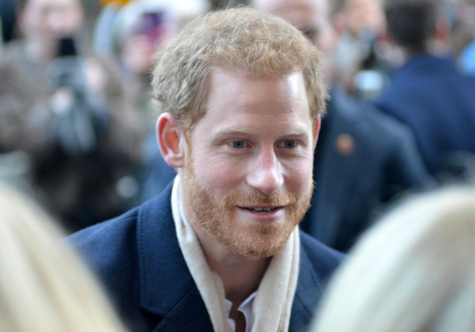 Prince Harry and Meghan Markle attend the Terrence Higgins Trust charity fair at the Nottingham Contemporary Centre                Featuring: Prince Harry        Where: Nottingham, United Kingdom        When: 01 Dec 2017        Credit: WENN.com{&nbsp;}<p></p>