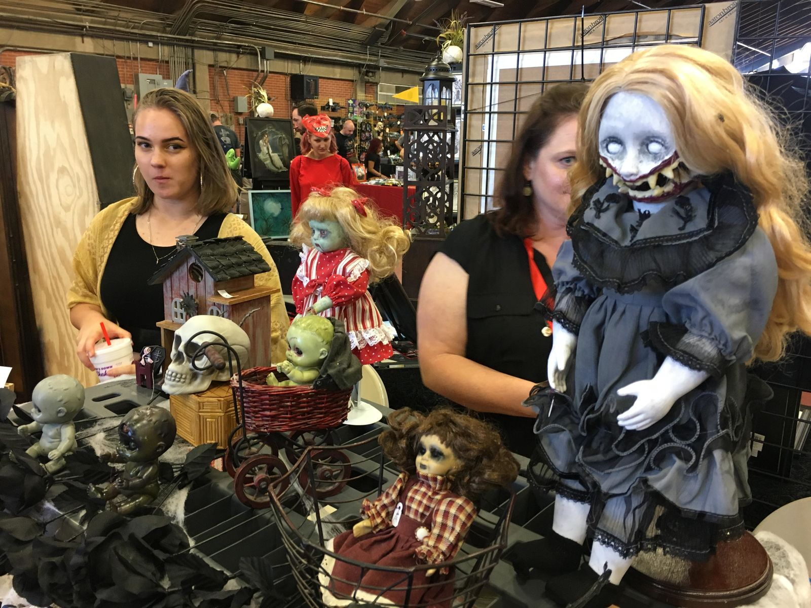 Nightfall Haunted Territory's Horror Con event takes place July 20th, 2019 in Oklahoma City. (David Young/KOKH)<p></p>