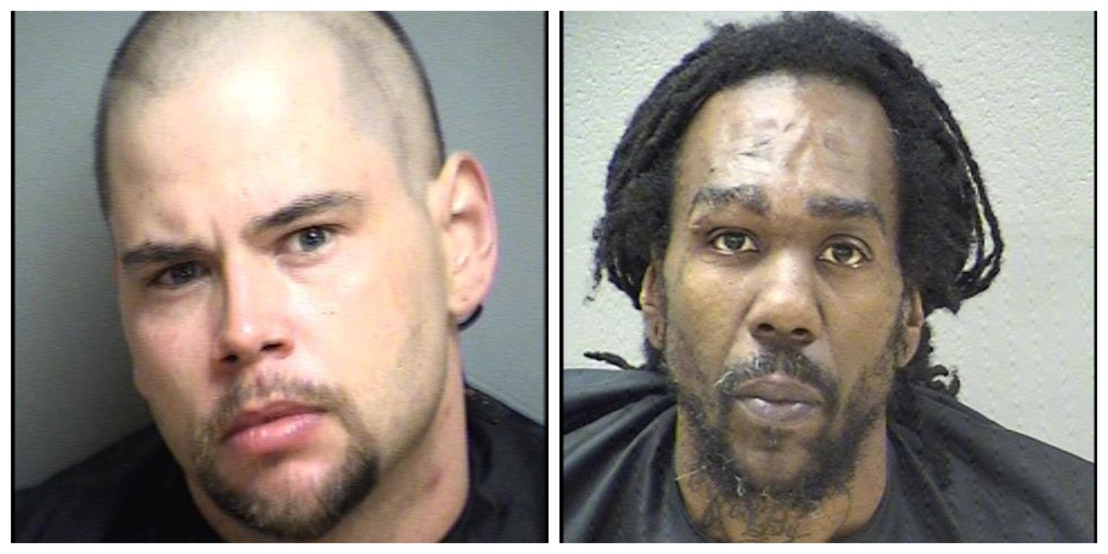 Larry Howard Grishaw Jr, 32, of Altavista and Ernest Hampton Turner, 43, of Madison Heights are wanted on outstanding charges related to the distribution of controlled substances from Operation Cloudburst (Amherst Co. Sheriff's Office)