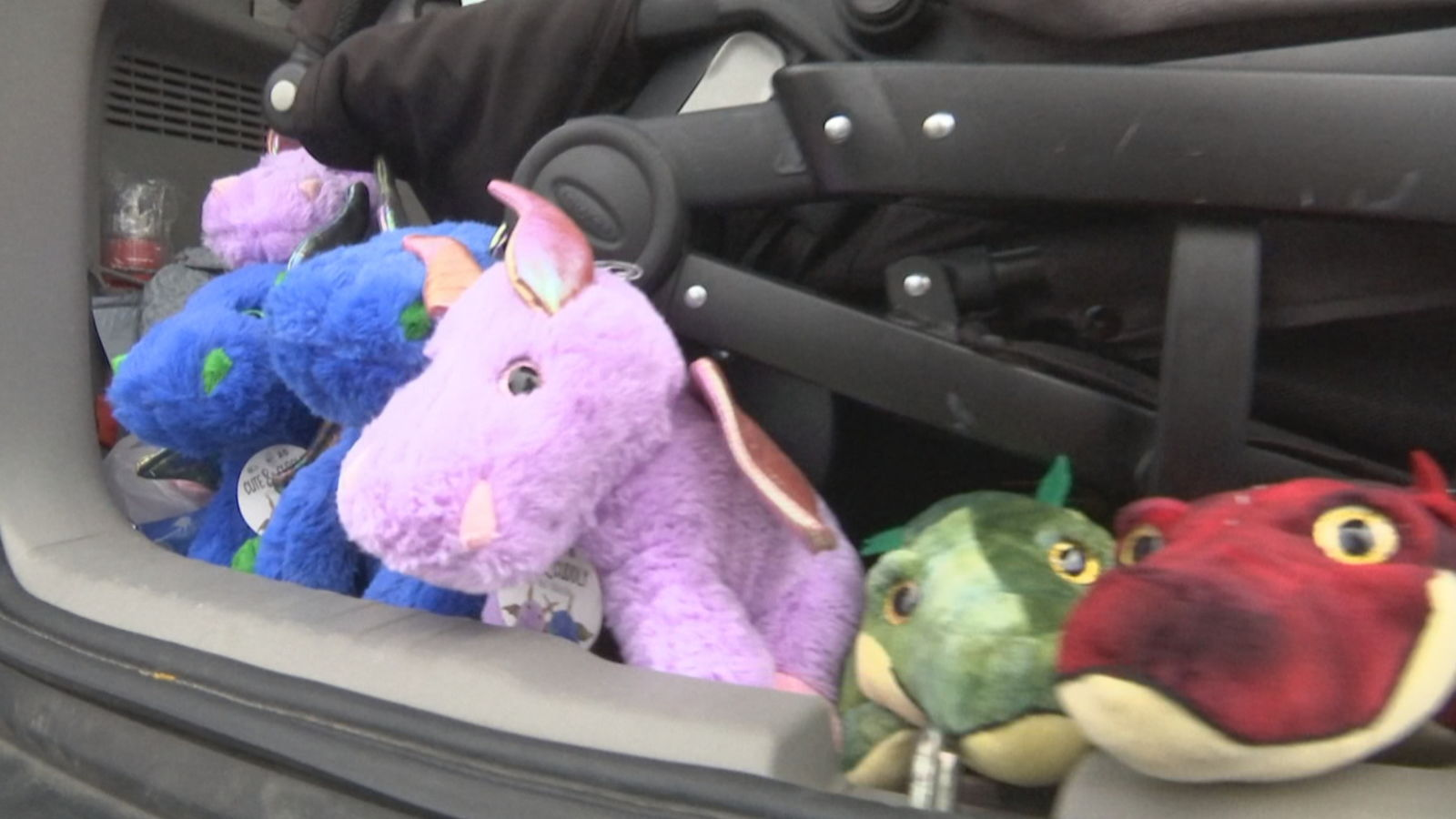 Liam Soares, 5, is adding stuffed animals to patrol cars in Fall River hoping it'll help kids in a scary situation. (WJAR)