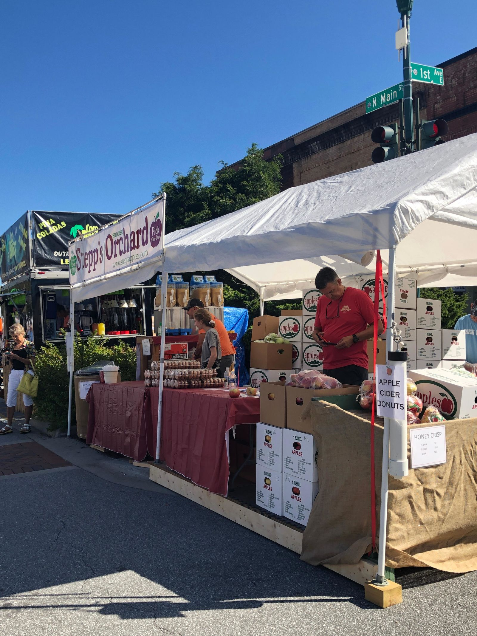 The North Carolina Apple Festival is set for Aug. 30 through Sept. 2. (Photo credit: WLOS staff)