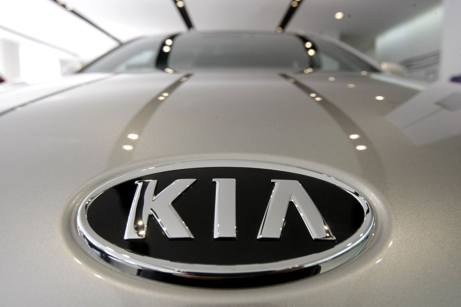 Kia is joining its affiliate Hyundai in recalling thousands of vehicles in the U.S. because water can get into a brake computer, cause an electrical short and possibly a fire. (AP Photo/Ahn Young-joon, File)