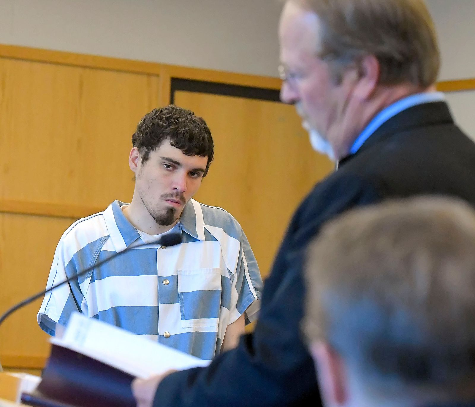 Alexander Whipple appears in 1st District Court for his initial appearance on Monday, June 3, 2019, in Logan, Utah. Whipple has been charged with five felonies including aggravated murder in connection with the death of 5-year-old Lizzy Shelley, who was found dead near her home on May 29.