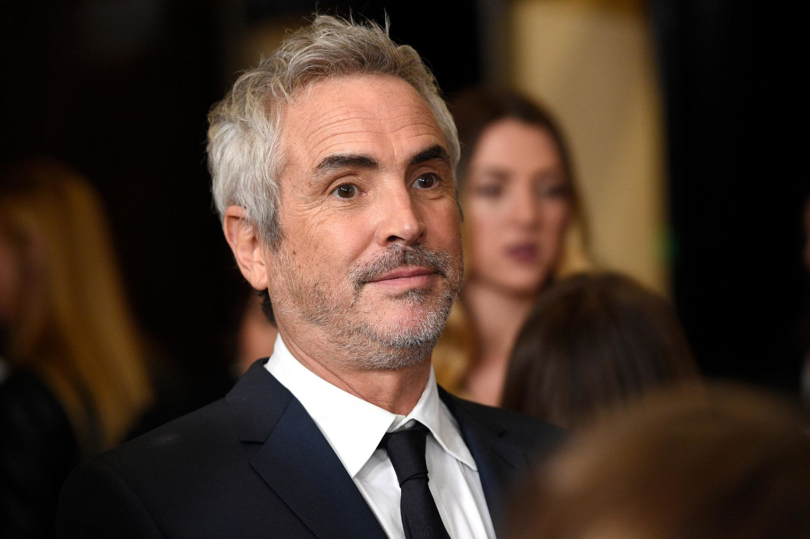 Alfonso Cuaron arrives