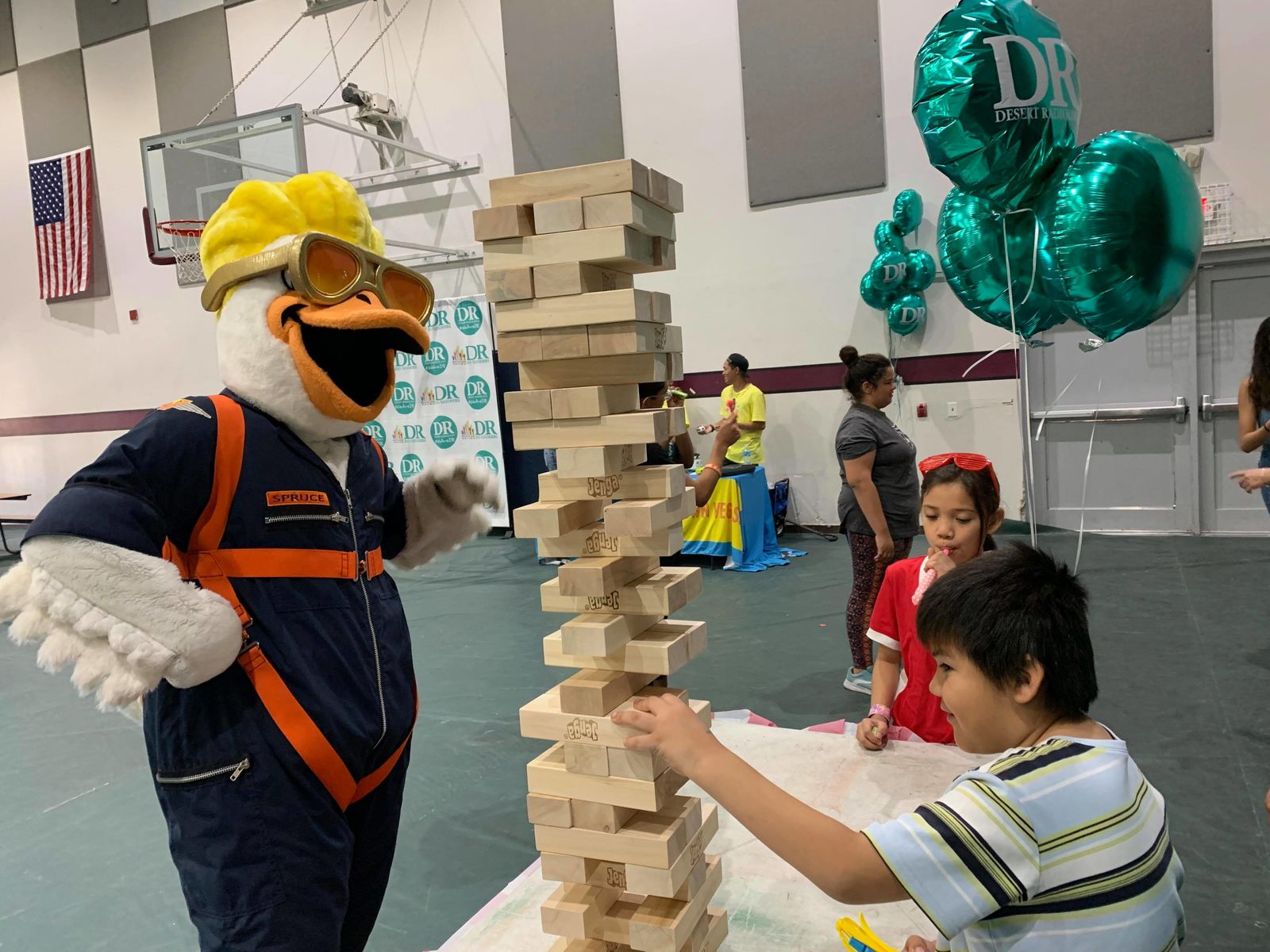 Desert Radiology and City Impact Center hosted a summer fair designed to give economically challenged families the chance to have a summer vacation with a summer fair. (Courtesy Maddie Skains)