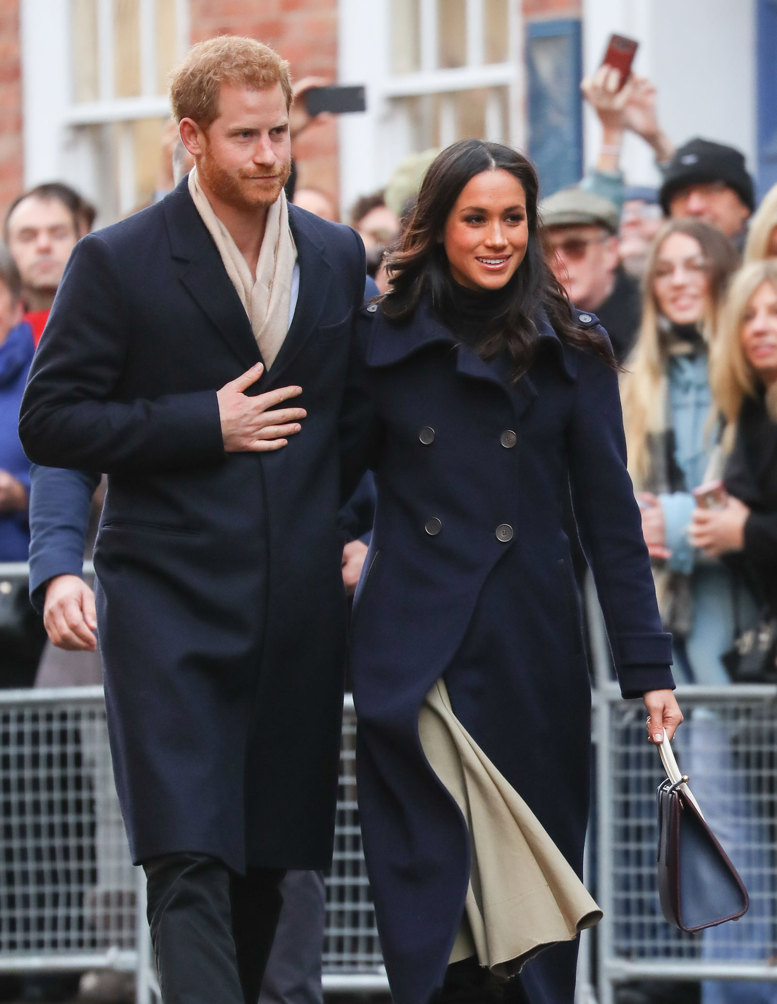 Prince Harry and Meghan Markle attend the Terrence Higgins Trust charity fair at the Nottingham Contemporary Centre                Featuring: Prince Harry, Meghan Markle        Where: Nottingham, United Kingdom        When: 01 Dec 2017        Credit: John Rainford/WENN.com
