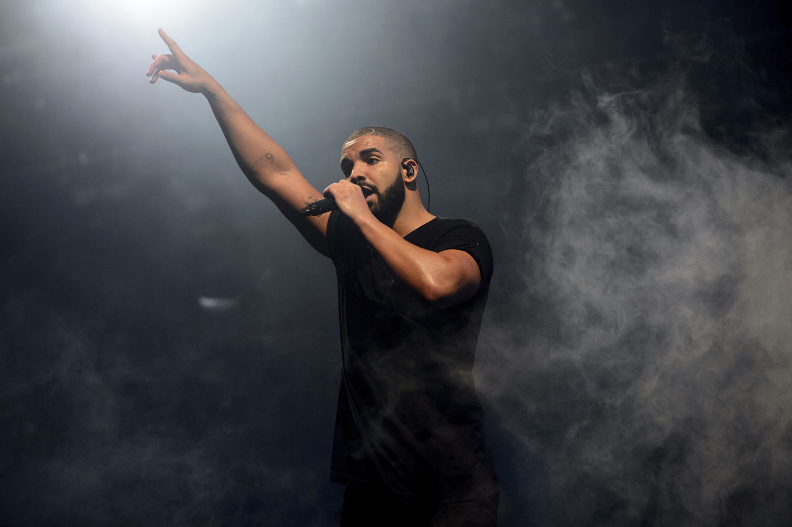 FILE - In this June 27, 2015 file photo, Canadian singer Drake performs on the main stage at Wireless festival in Finsbury Park, London. (Photo by Jonathan Short/Invision/AP, File)