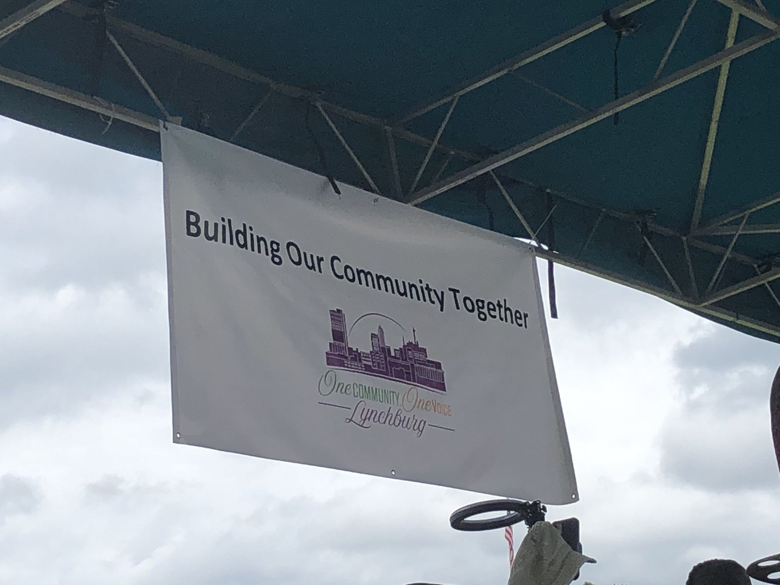 "The ""Building Our Community Together"" event was held in Lynchburg on Saturday and brought together community members while practicing COVID-19 prevention methods. (WSET){ }"