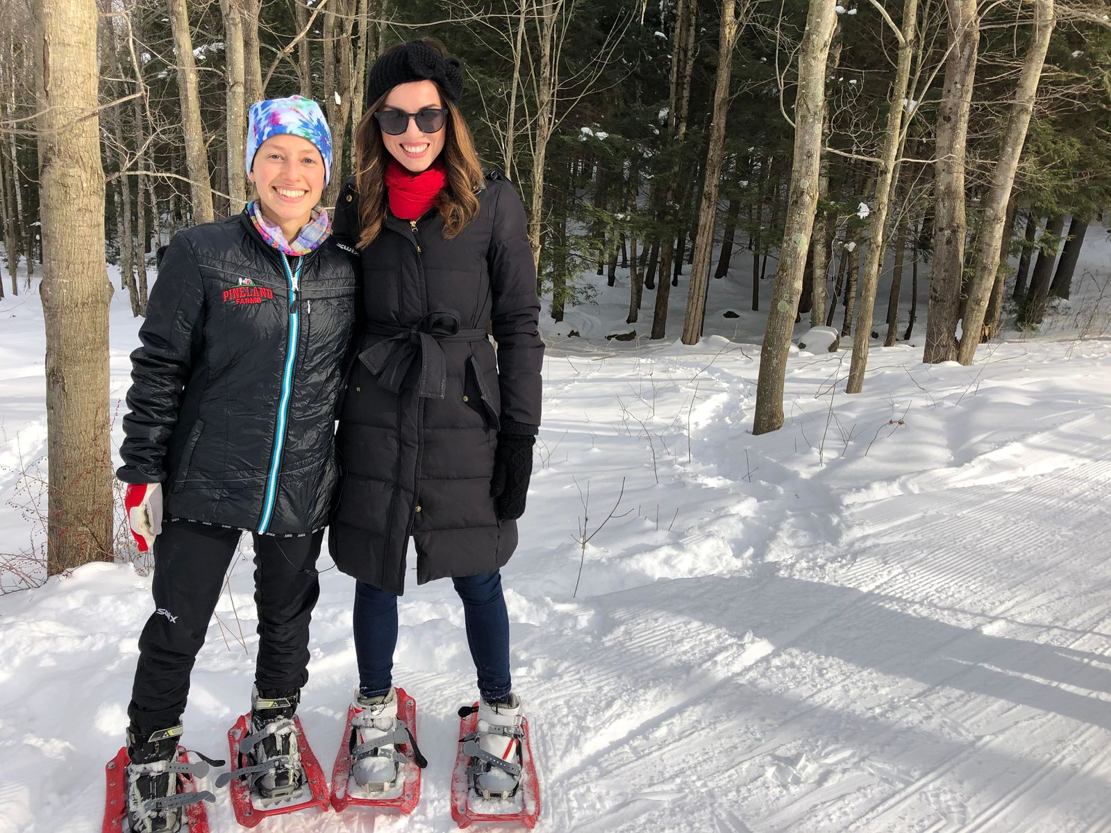 Instructor Dana Bloch at Pineland Farms{ }(WGME)