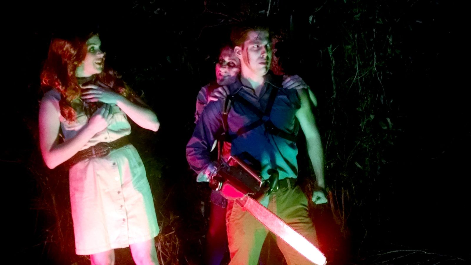 """Evil Dead: The Musical"" is returning to Vinyl Musical Hall in 2020. (Photo: WEAR-TV)"