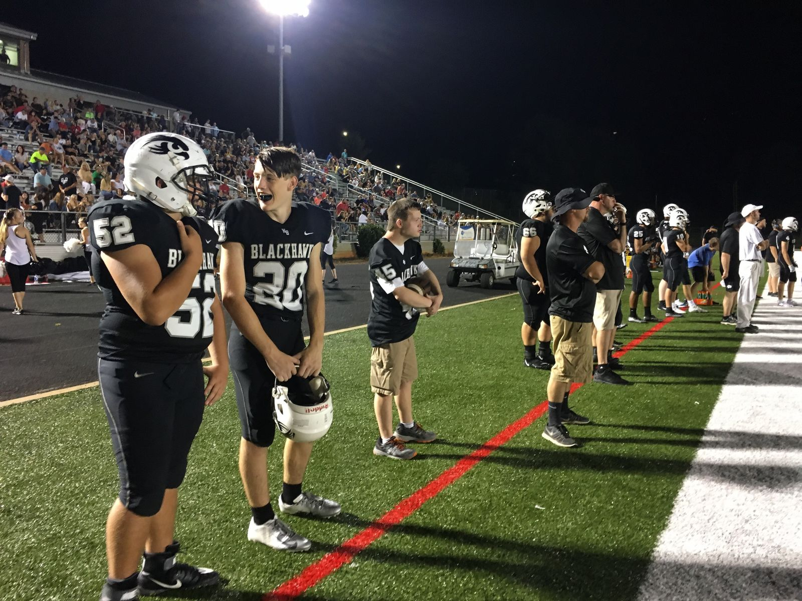 North Henderson vs Hendersonville, 08-23-19 (Photo credit: WLOS Staff)