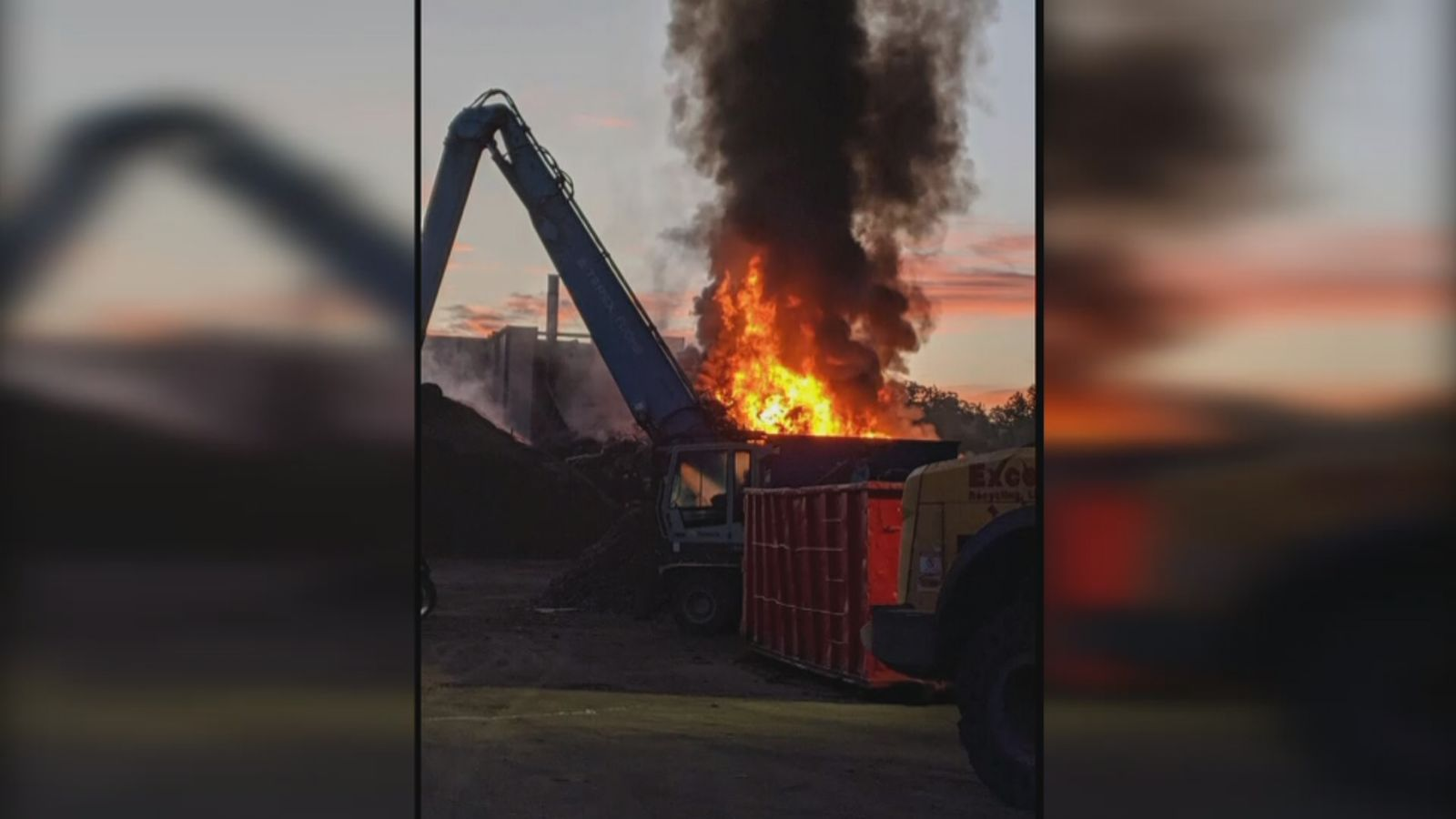This fire at a Freetown facility has renewed concerns from surrounding neighbors. (Freetown PD)