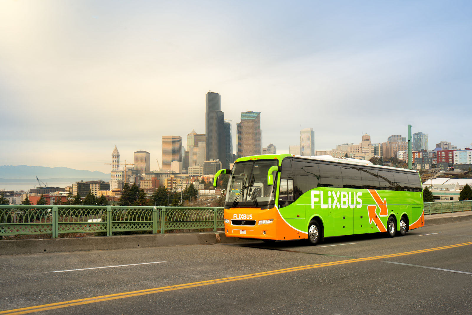 <p>FlixBus plans to launch service on Thursday, with fares starting at $9.99. The company will offer four trips in each direction daily between Eugene and Portland, with stops on both the University of Oregon and Oregon State University campuses. (FlixBus)</p>