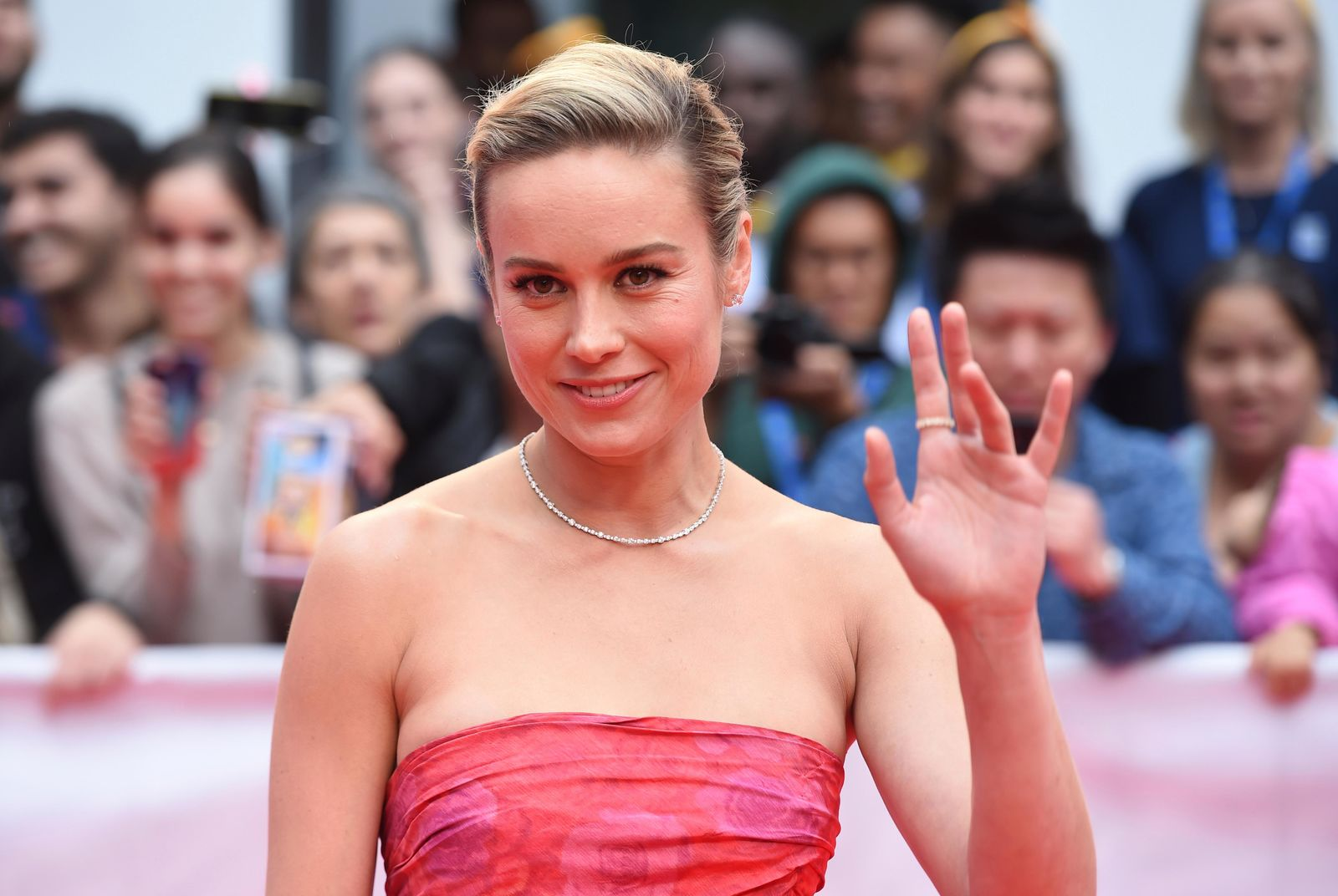 "Brie Larson attends the premiere for ""Just Mercy"" on day two of the Toronto International Film Festival at the Roy Thomson Hall on Friday, Sept. 6, 2019, in Toronto. (Photo by Chris Pizzello/Invision/AP)"