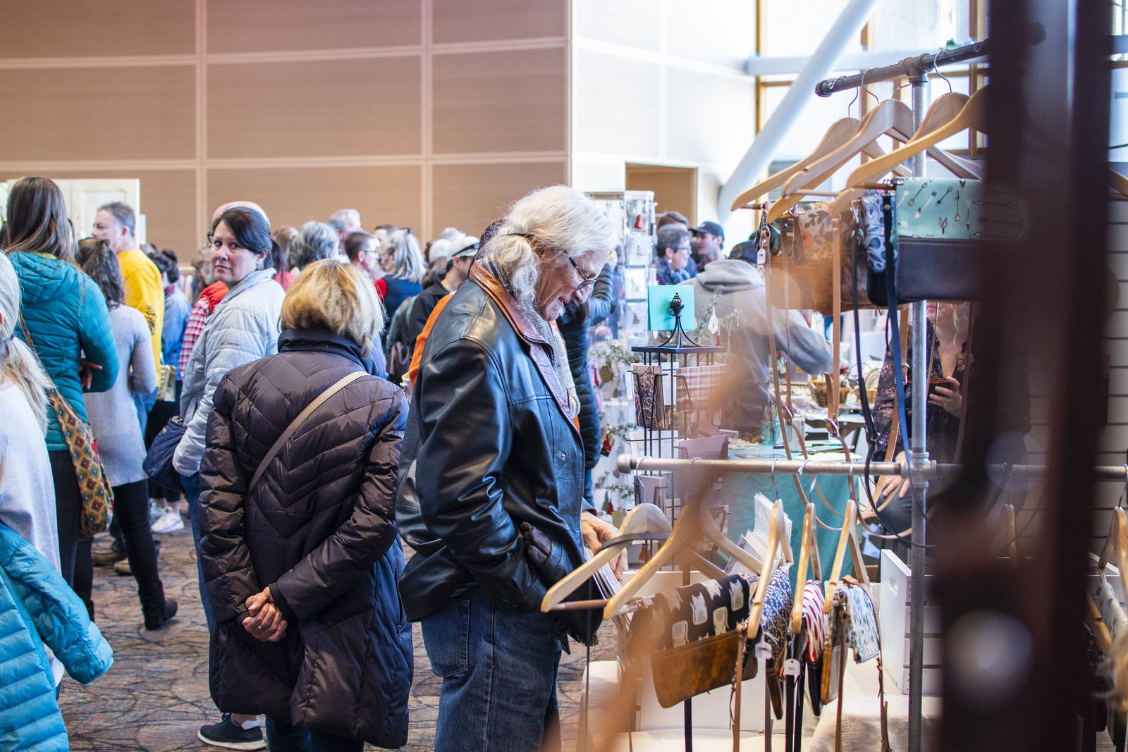 Looking for a fun Sunday activity? Check out the Wintry Market at the Jump in Boise. The event will be open from 10:00 AM to 5:00 PM on Sunday. (Photos by Axel Quartarone)