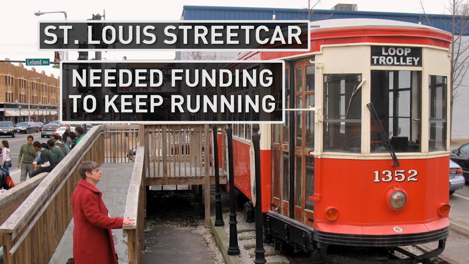 The streetcar in St. Louis has struggled for funding and needed a recent infusion of cash to continue running (Photo: Alex Brauer, Sinclair Broadcast Group)<p></p>