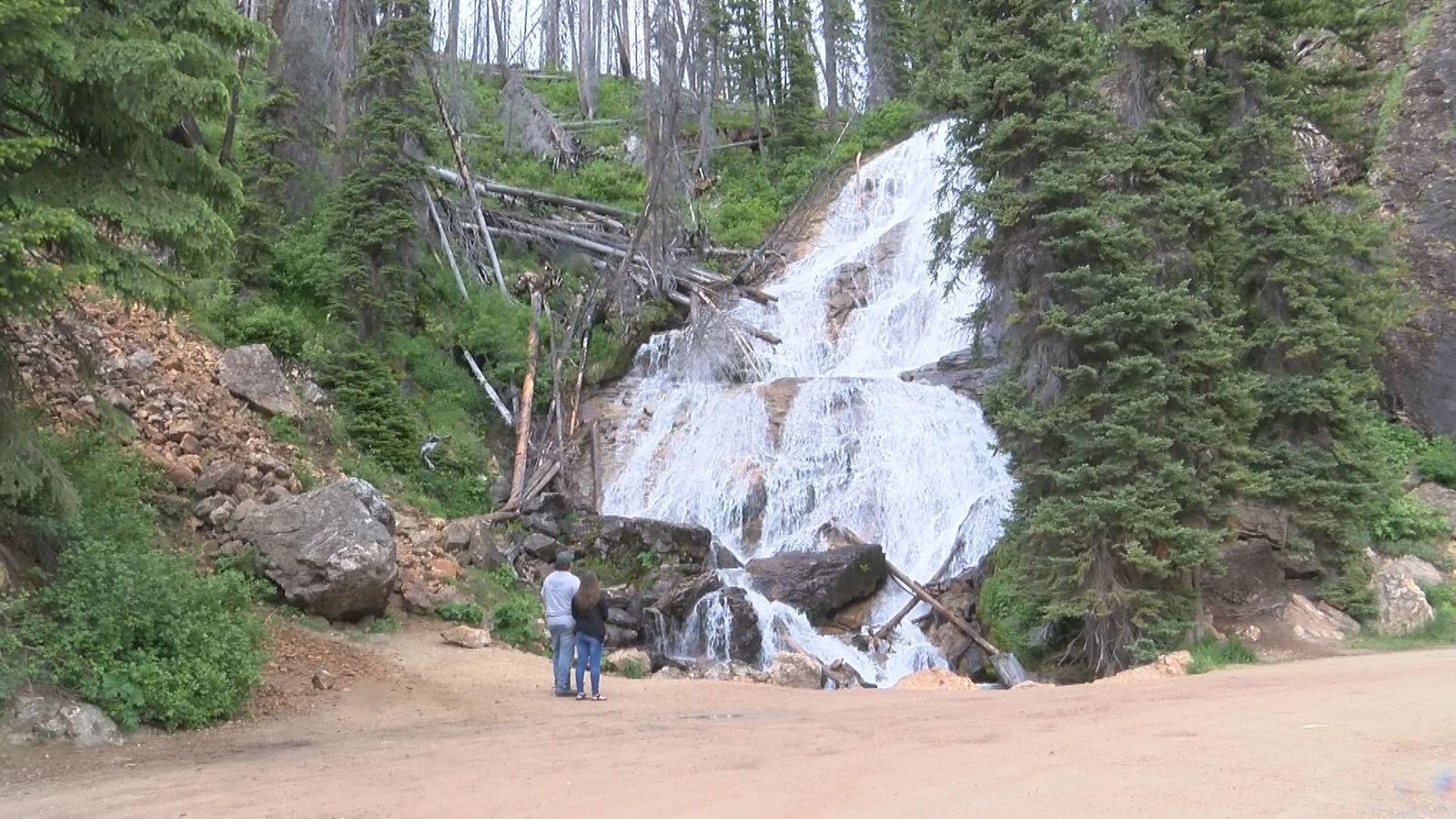 If you travel over the{ } Skalkaho Pass connecting Hamilton to the Flint Creek Valley near Philipsburg, you'll discover one of Montana's most magnificent natural wonders. In our Montana Moment, we take you to Skalkaho Falls, where white water plunges down from the Sapphire Mountains, inspiring awe at the power of nature.