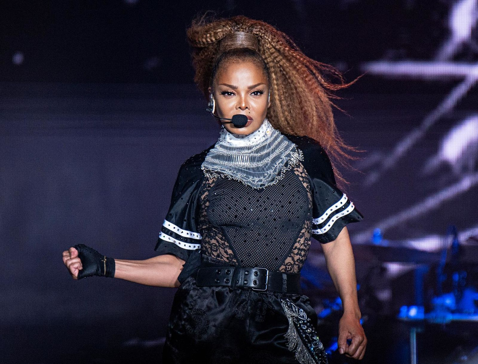 FILE - In this July 8, 2018 file photo, Janet Jackson performs at the 2018 Essence Festival in New Orleans. (Photo by Amy Harris/Invision/AP, File)