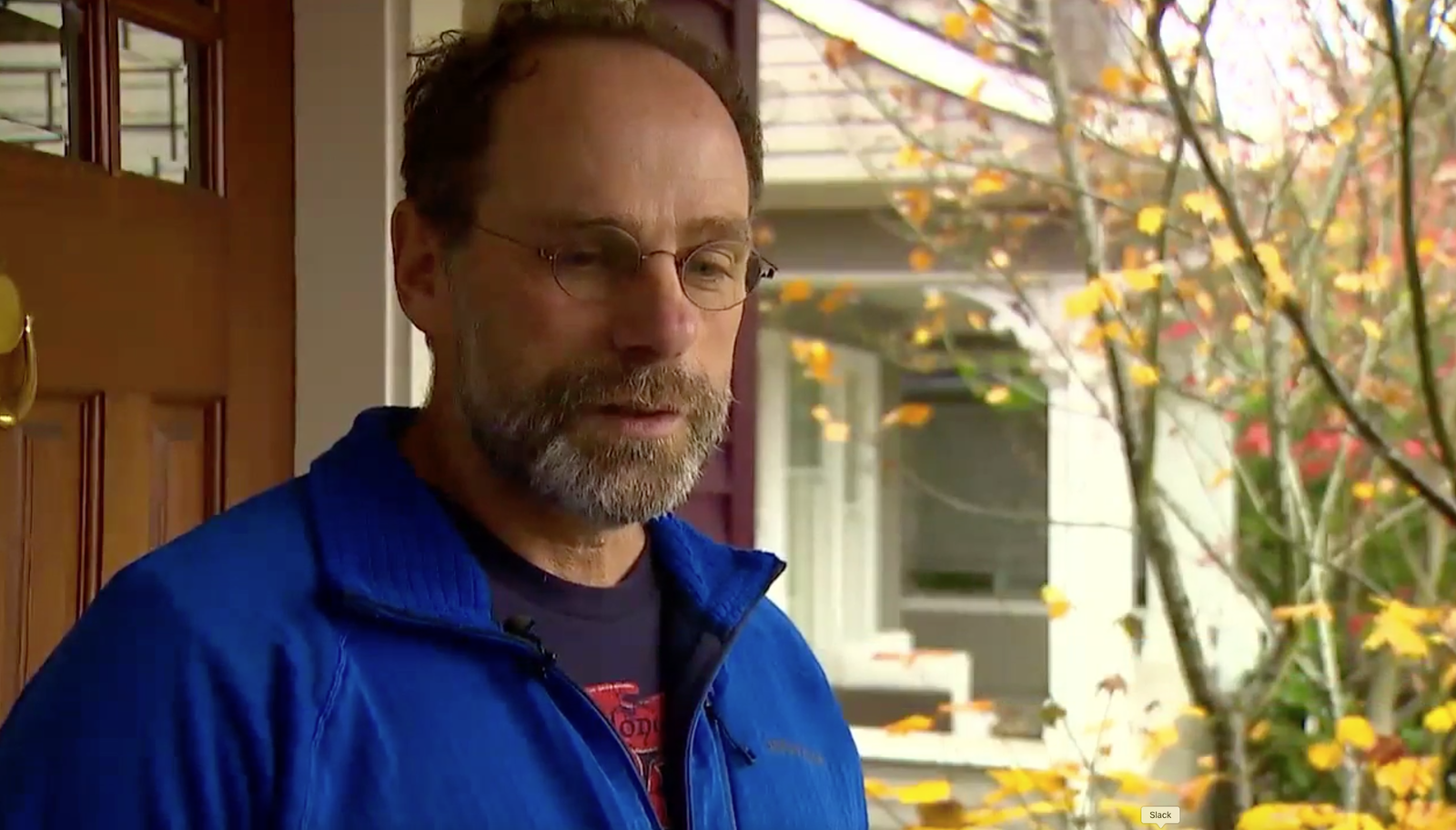 The victim's neighbor,{ }John Healy, recalls how loved she was. (Photo: KOMO)