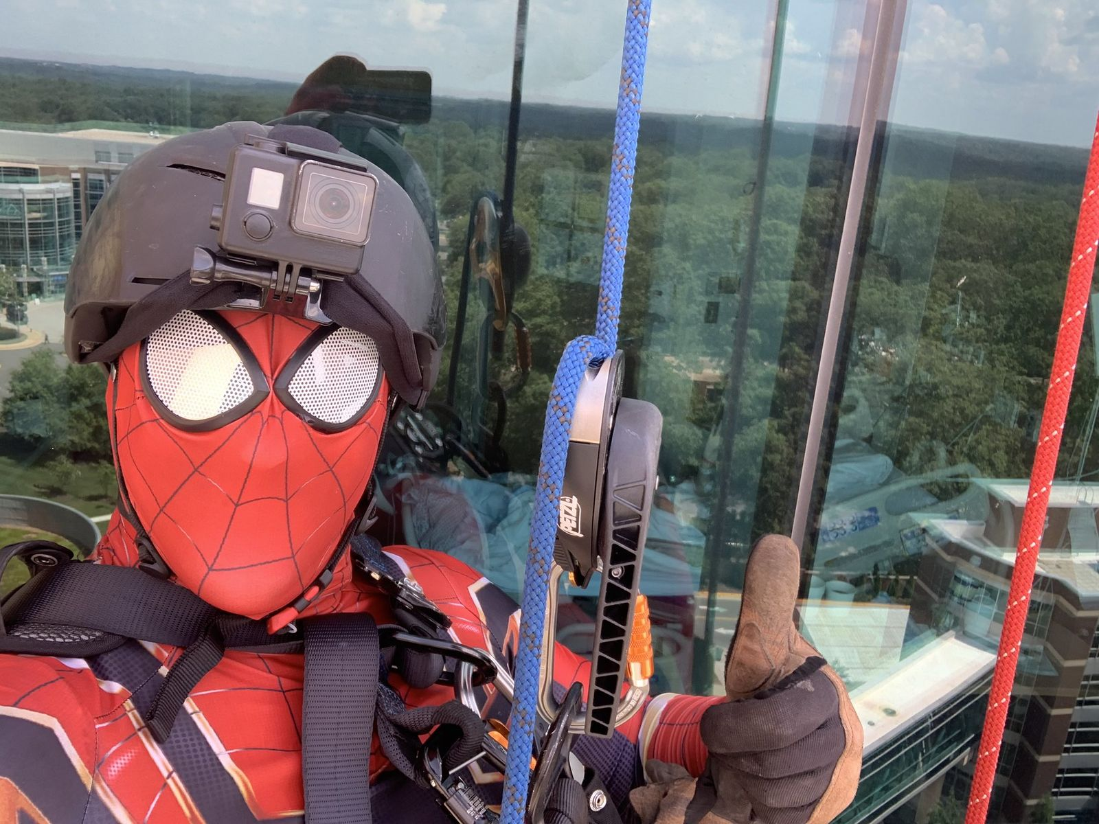 Patients at Virginia hospital surprised by superheroes at ...