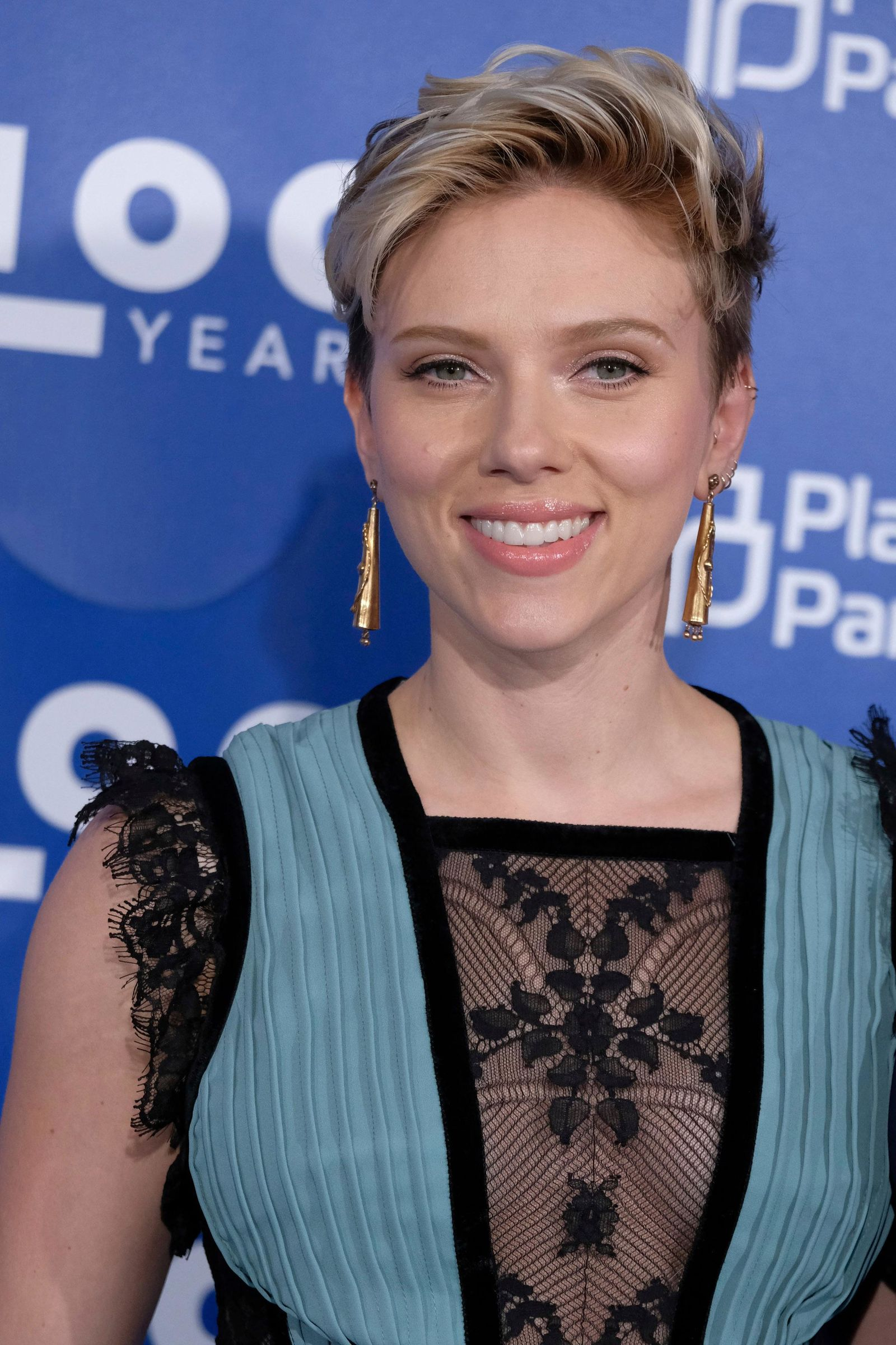 Scarlett Johansson attends the Planned Parenthood 100th Anniversary Gala on Tuesday, May 2, 2017 in New York. (Photo by Charles Sykes/Invision/AP)