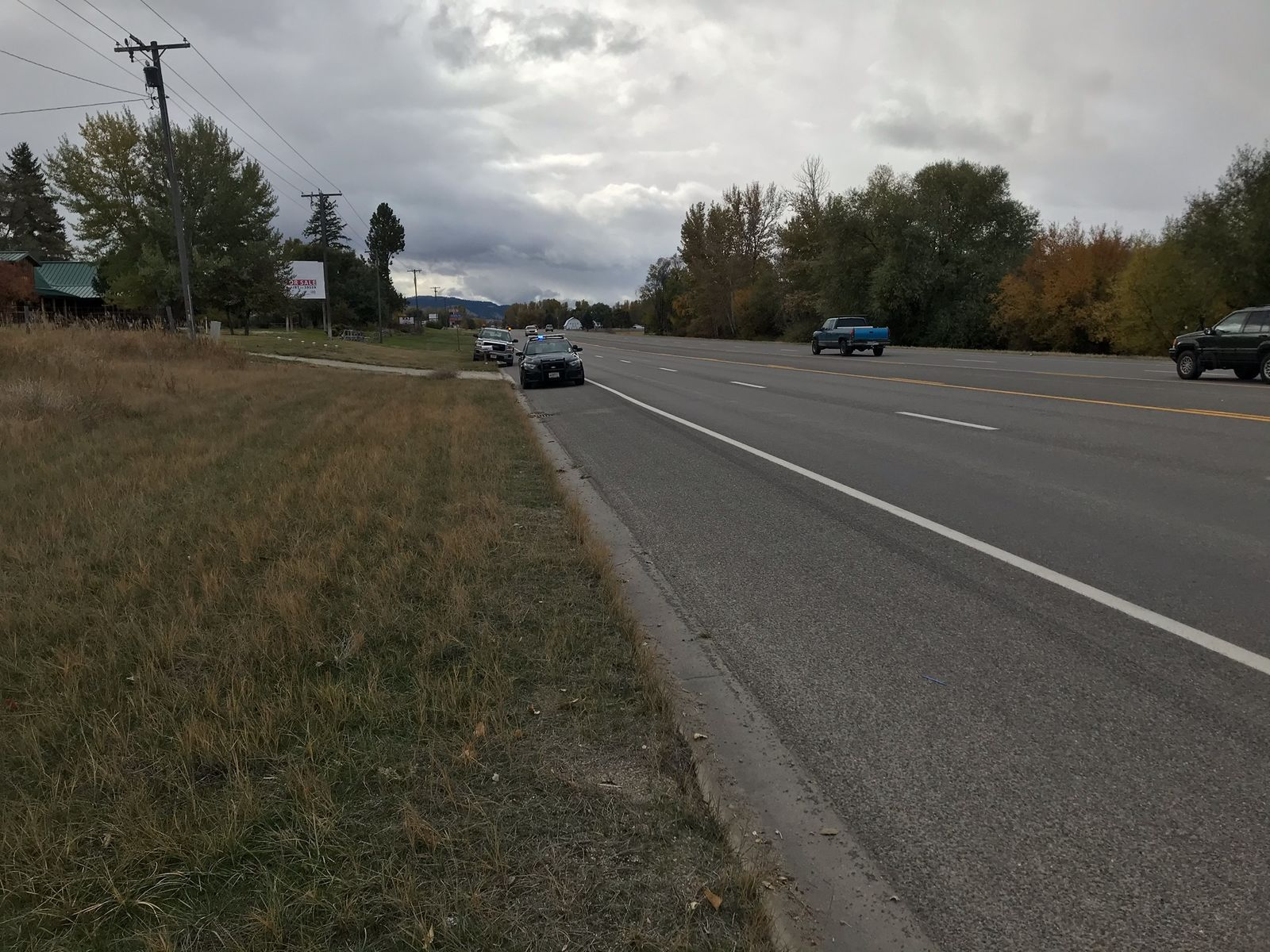 Montana Highway Patrol is investigating a fatal crash near Hamilton. Photo: NBC Montana<p></p>