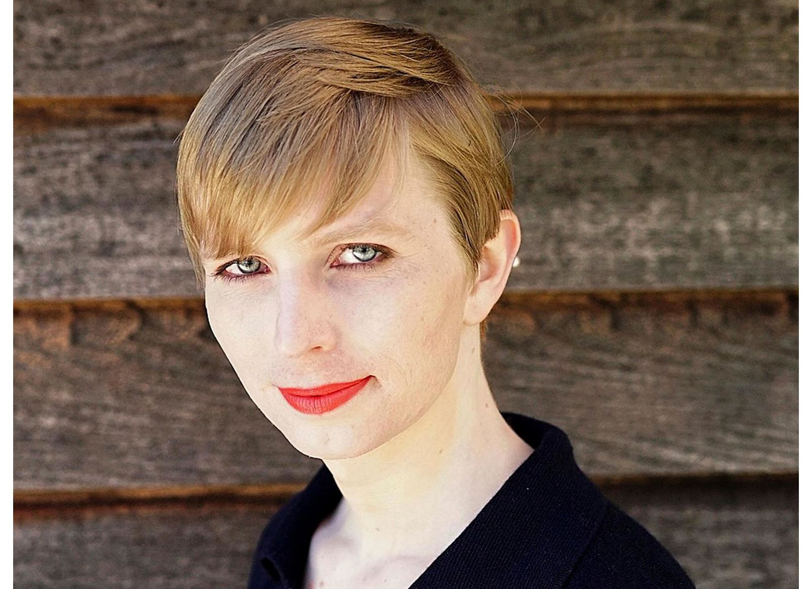 FILE - This undated file photo provided by Chelsea Manning shows a portrait of her that she posted on her Instagram account on Thursday, May 18, 2017.{ } (Tim Travers Hawkins/Courtesy of Chelsea Manning via AP, File)