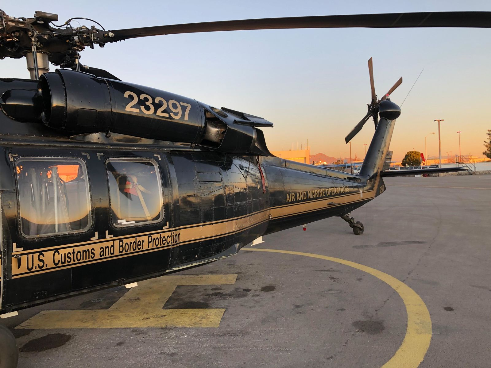 U.S. Customs and Border Protection's Air and Marine Operations El Paso Branch got an upgrade with the addition of a UH-60A+ Black Hawk. Two more UH-60 Black Hawks are expected for delivery, with one arriving in spring 2020 and the other in 2021. (Source: U.S. Customs and Border Protection)