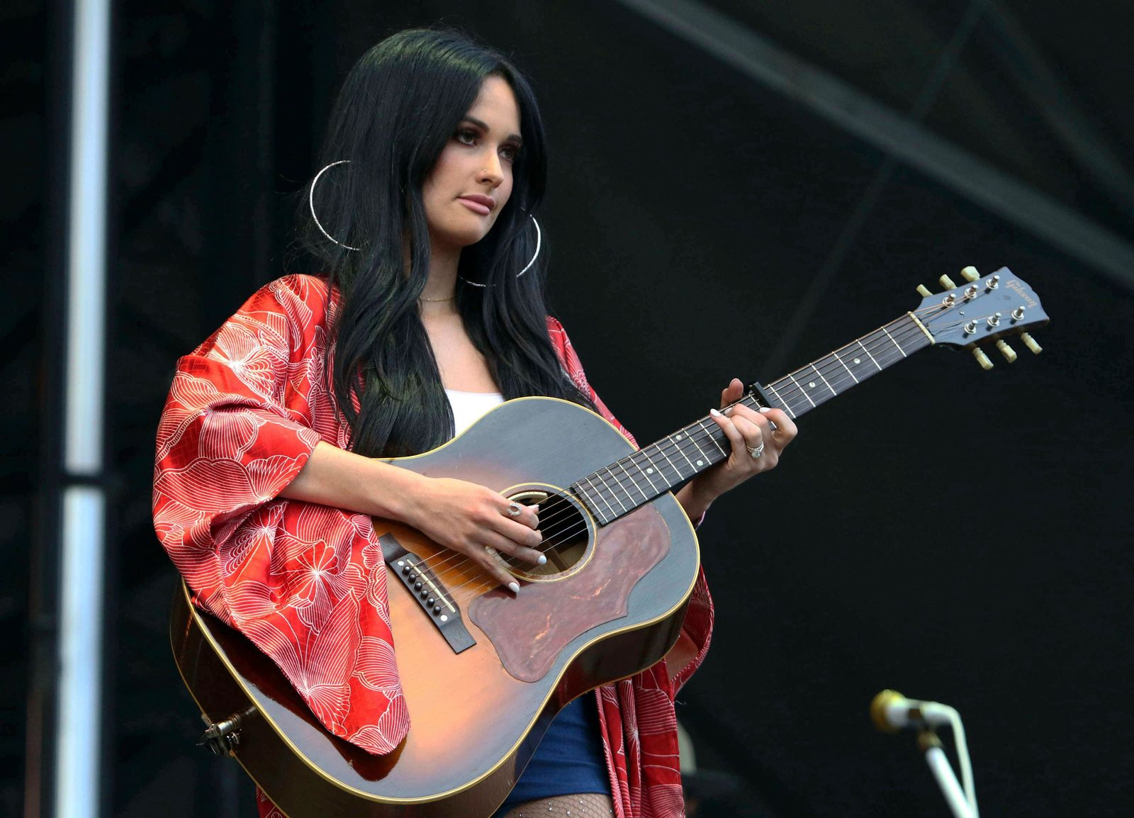 FILE - In this Sept. 15, 2018 file photo, Kacey Musgraves performs during Music MidTown 2018 at Piedmont Park, in Atlanta. (Photo by Katie Darby/Invision/AP, File)