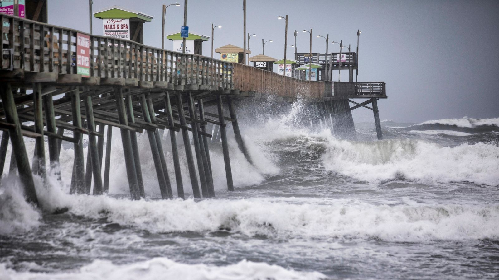 FILE - Gov. Roy Cooper is seeking a federal disaster declaration for 13 counties in North Carolina following Hurricane Dorian. . (Julia Wall/The News & Observer via AP)