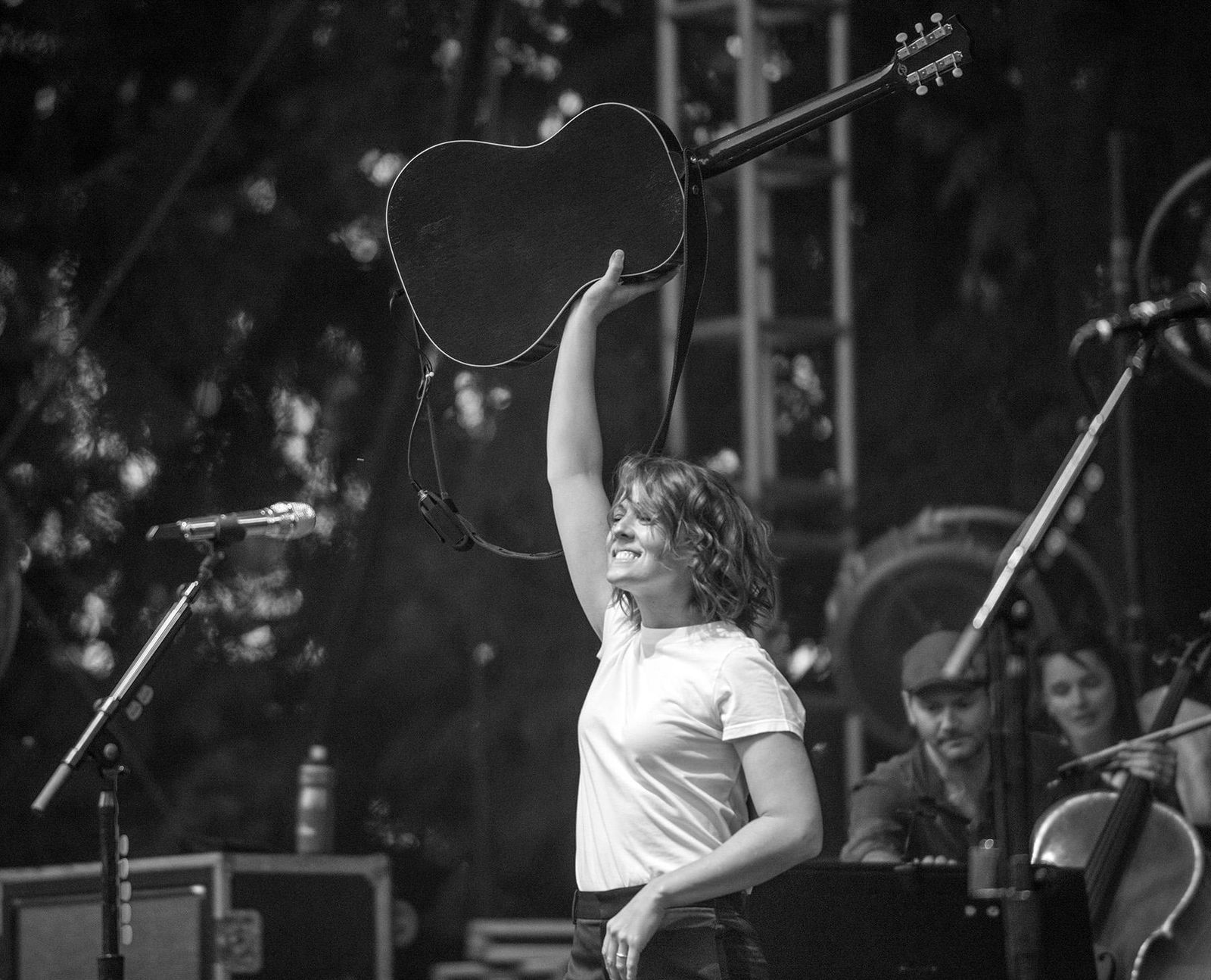 "Washington's own Brandi Carlile showed her love for the Pacific Northwest this weekend with a string of three sold out shows at the McMenamins Edgefield in Troutdale. The Grammy-winning singer/songwriter brought out a wild set of songs that spanned her more than two-decade career, showcasing tracks off her latest release, ""By the Way, I Forgive You."" (Photo by Tristan Fortsch on August 24, 2019)"