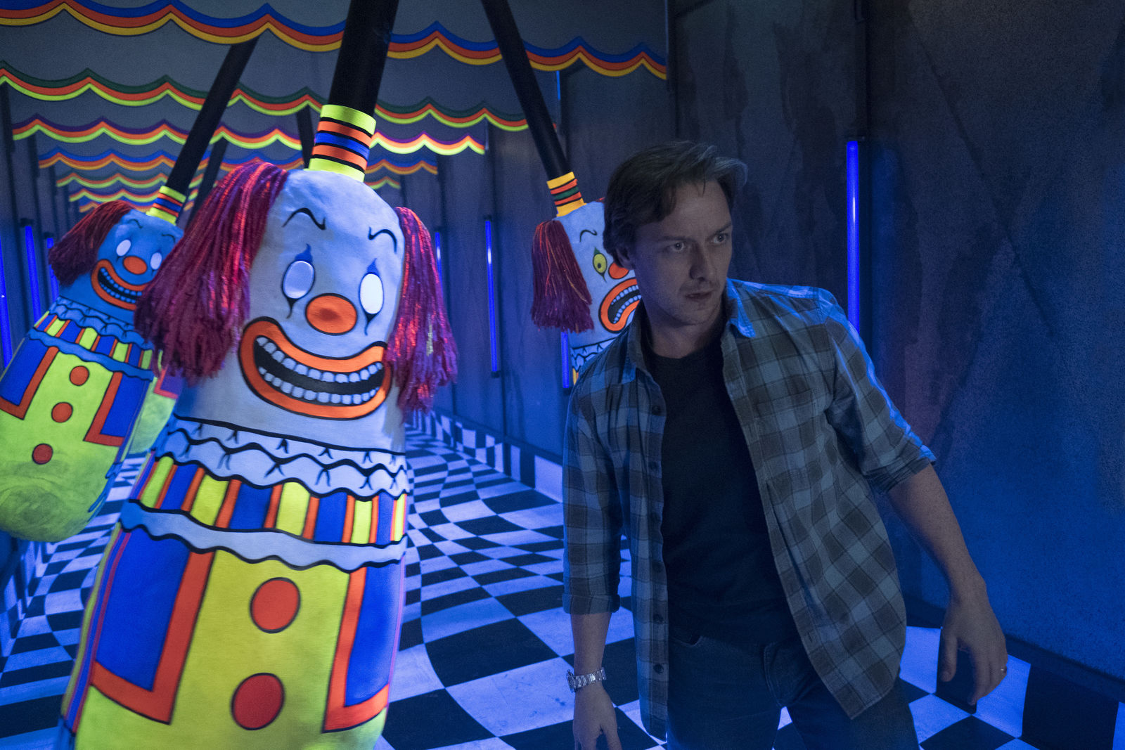 "JAMES McAVOY as Bill Denbrough in New Line Cinema's horror thriller ""IT CHAPTER TWO,"" a Warner Bros. Pictures release. (Photo: Warner Bros.){ }"