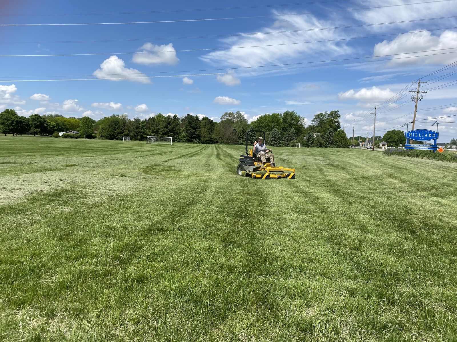 Diamonds and soccer fields have been not been in use for the last few months so cities are now scrambling to get them in shape. (WSYX/WTTE)