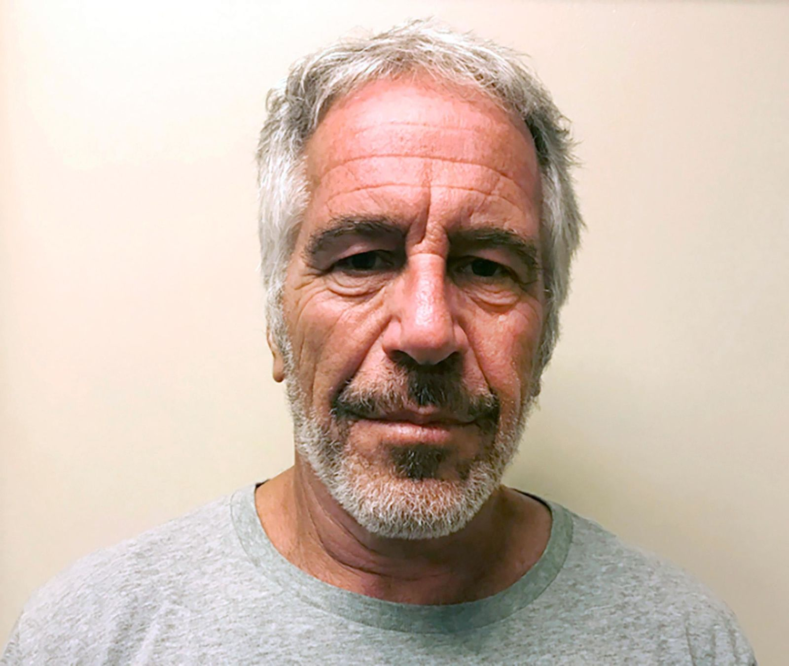 "FILE - This March 28, 2017, file photo, provided by the New York State Sex Offender Registry, shows Jeffrey Epstein. Attorney General William Barr says Jeffrey Epstein's death was the result of a ""perfect storm of screw-ups."" (New York State Sex Offender Registry via AP, File)"