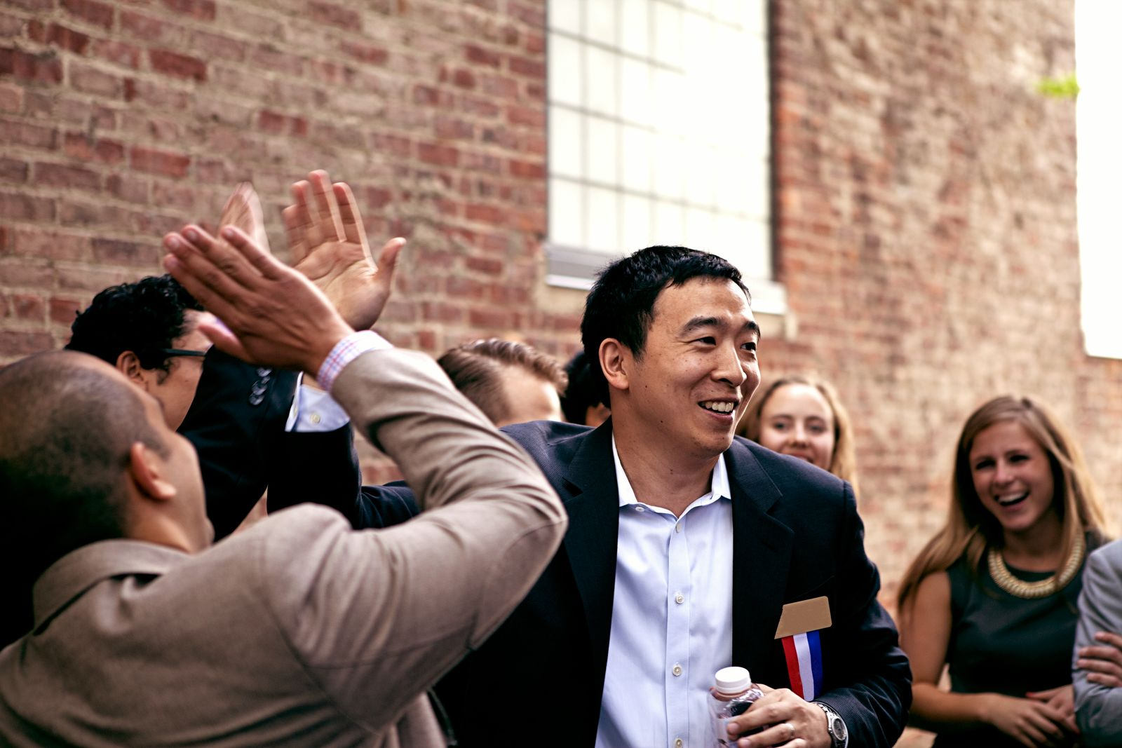Andrew Yang - Crowd (Photo courtesy:{ } Nanette Konig via Yang's campaign)