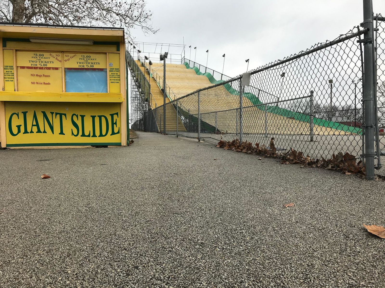 The Giant Slide at the Illinois State Fairgrounds (Billy Hatfield)