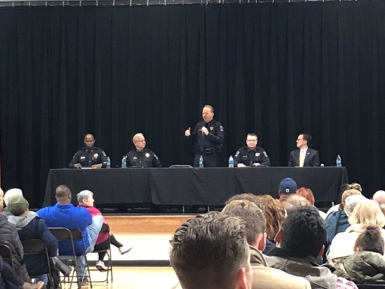 Four candidates for Tulsa Police Chief faced tough questions Friday, Jan. 17, 2020, as the selection process nears the finish line. (Mummolo/KTUL)<p></p>