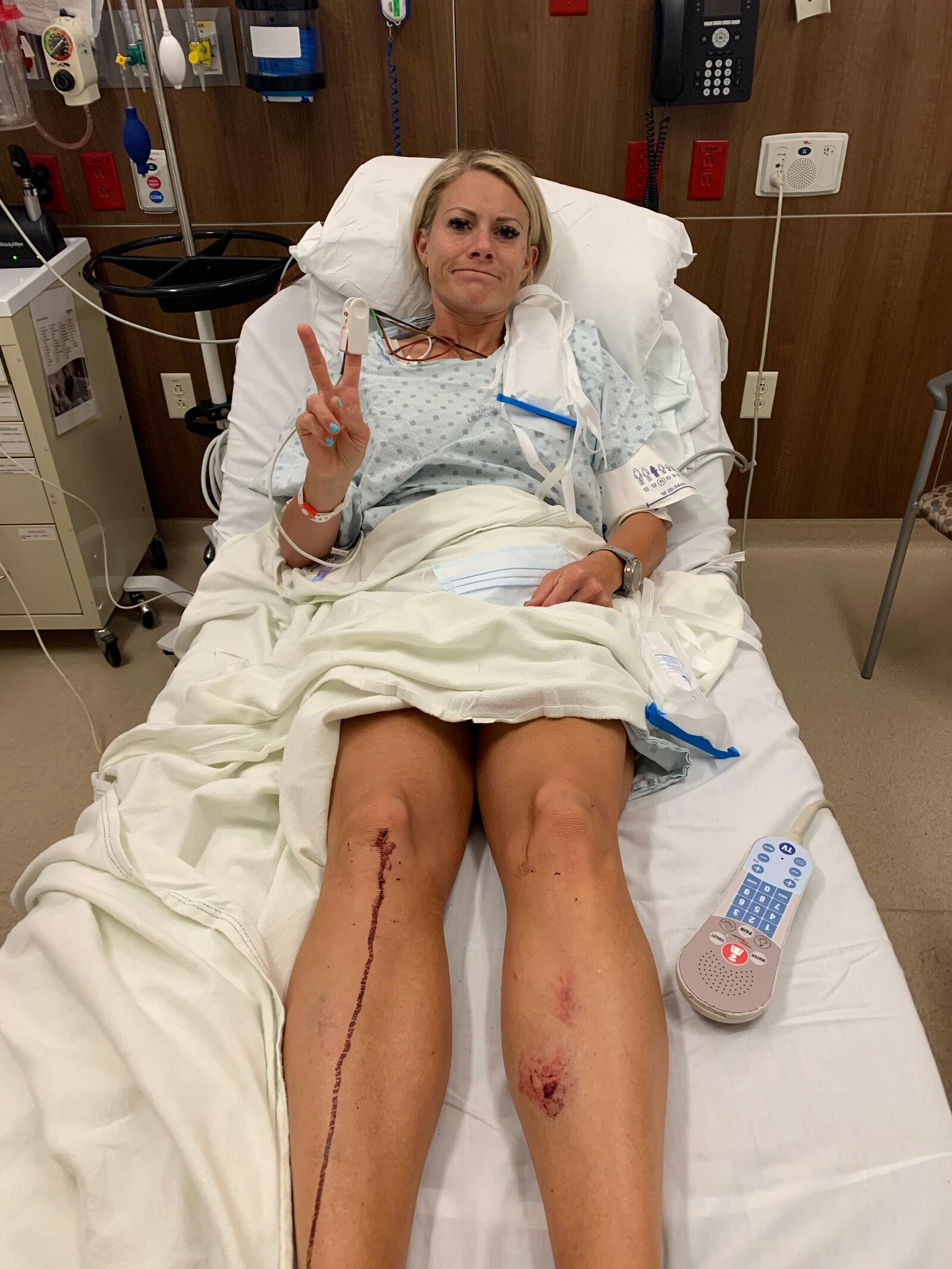 <p>A Utah County woman who survived a horrific crash that shut down Interstate 15 for several hours earlier this month says the accident should have never happened. (Photo: Heather J.)</p>