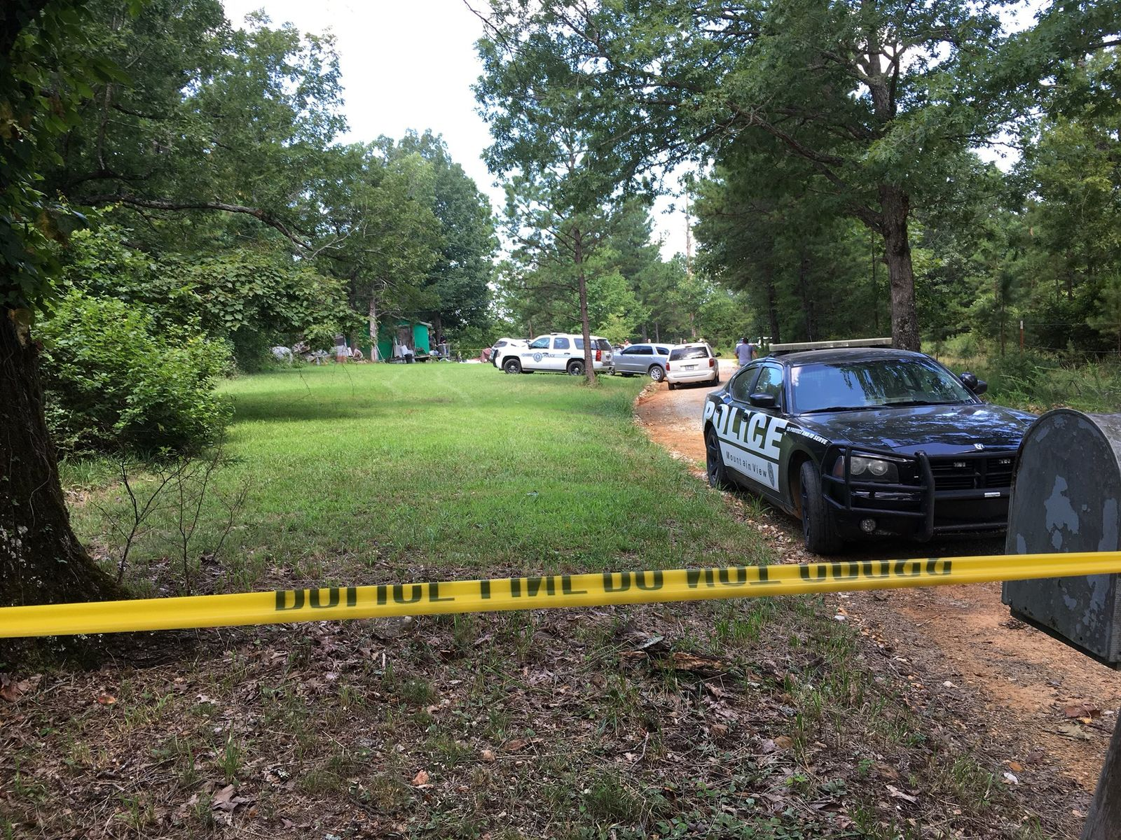 The scene of a deadly officer-involved shooting in Stone County (Photo: KATV)