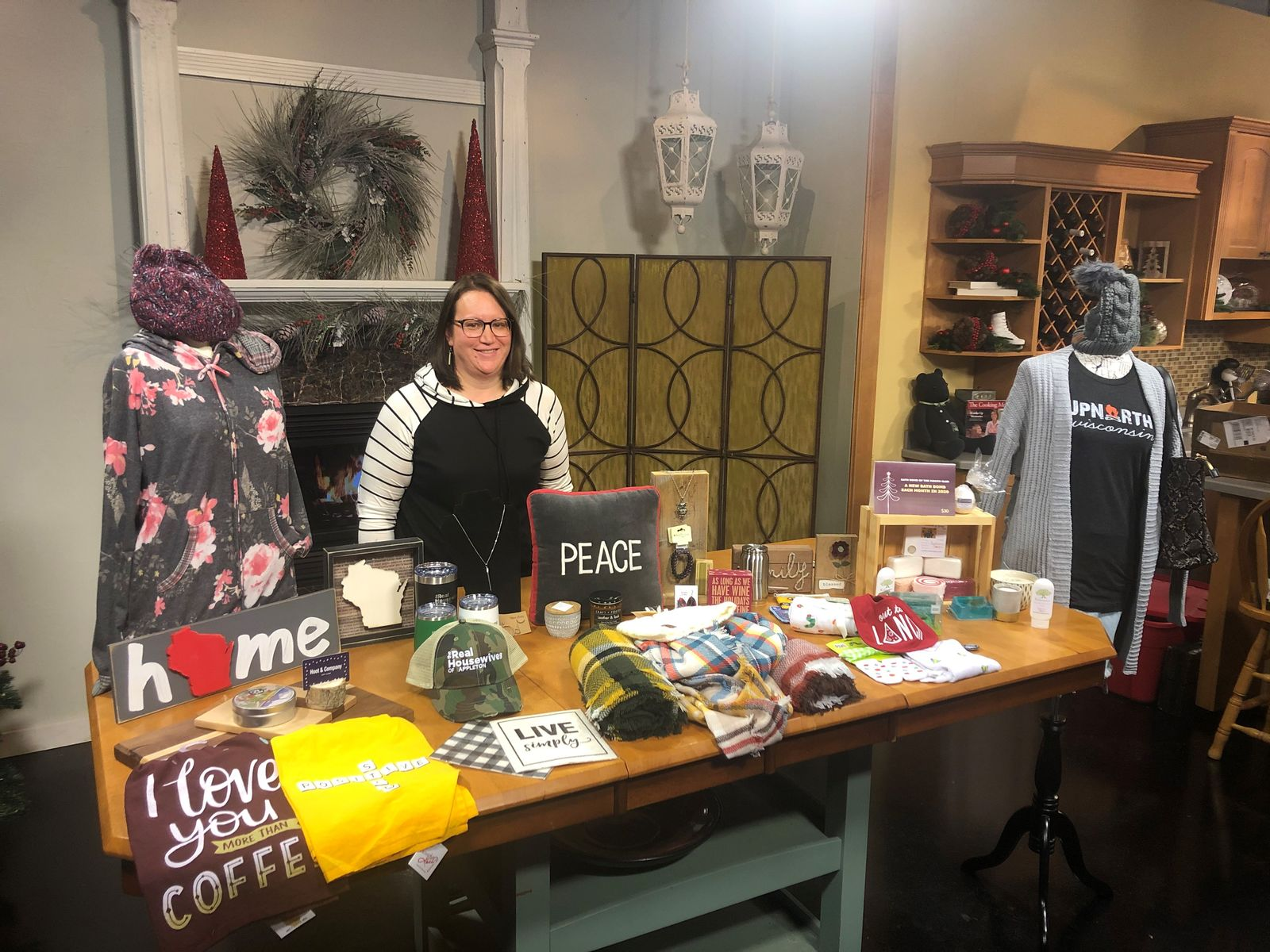 Hoot and Company in Appleton stopped by Good Day Wisconsin as a part of our Small Shop Showcase, December 6, 2019. (WLUK image)