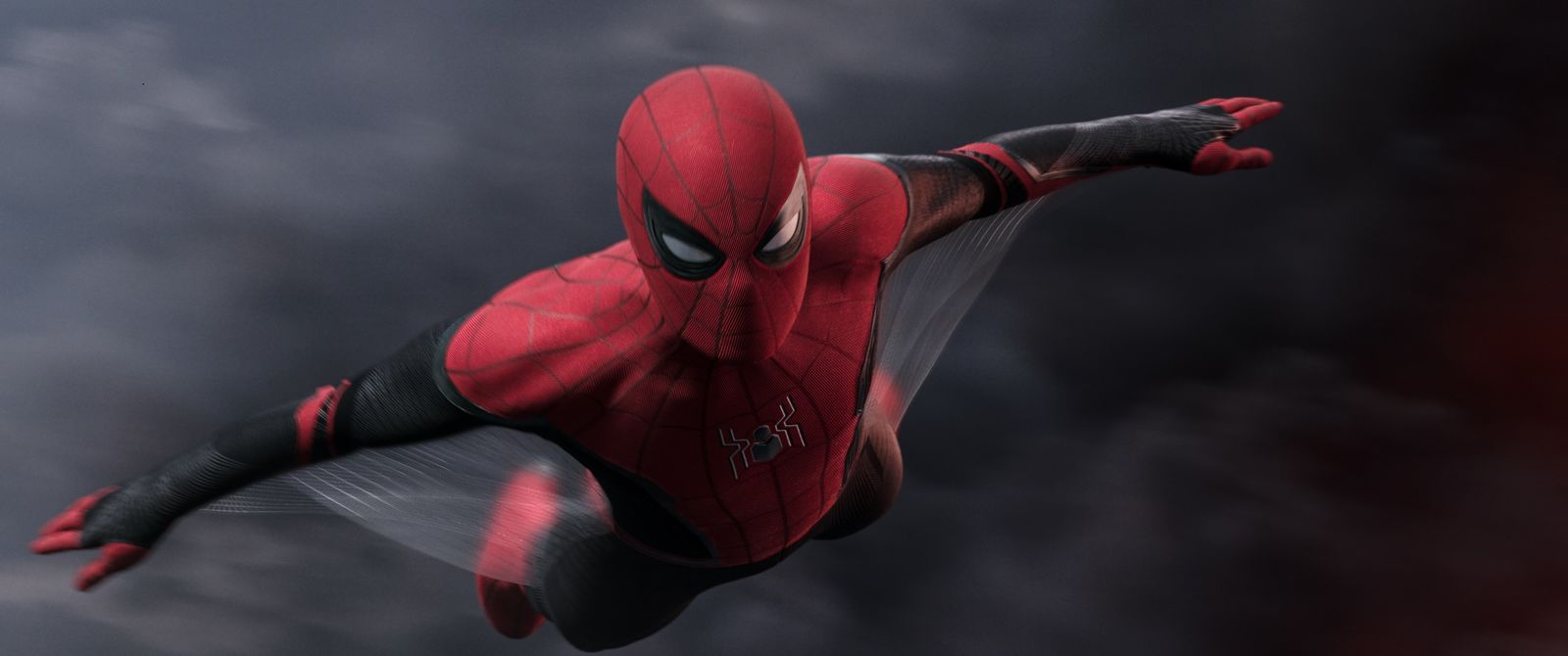 {&nbsp;}Spider-Man in Columbia Pictures' SPIDER-MAN: ™ FAR FROM HOME' (Photo: Sony)<p></p>
