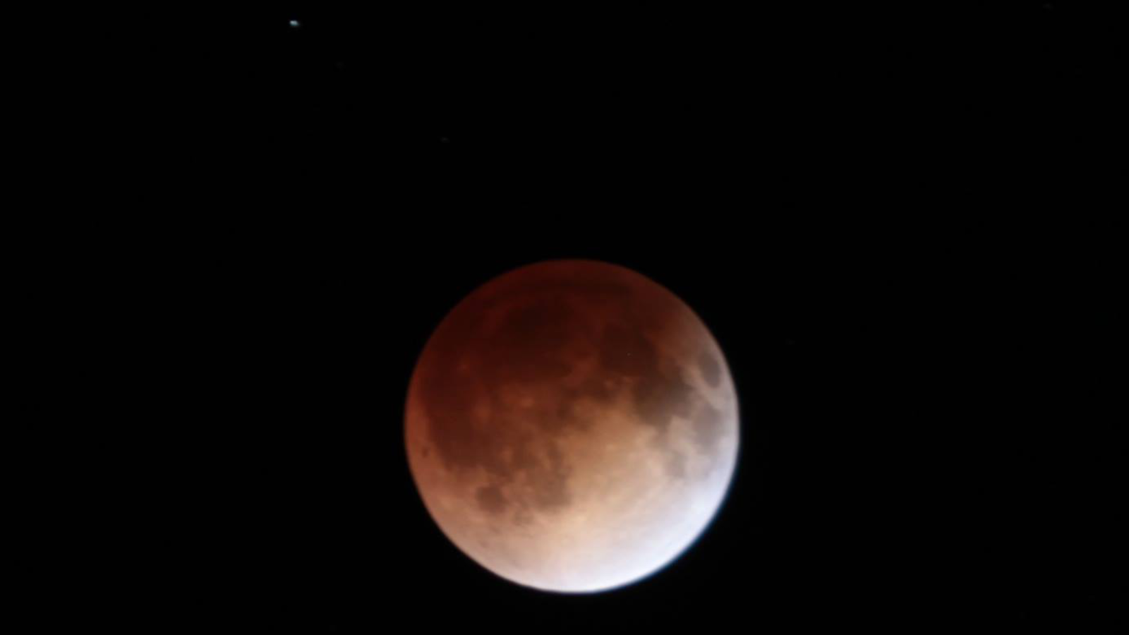 A lunar eclipse will take place on Sunday night starting at 9:33 p.m. CST. During the hour-long total eclipse which starts at 10:41 p.m. CST, the moon will look blood red. (Photo: Nick Stewart, KGAN)