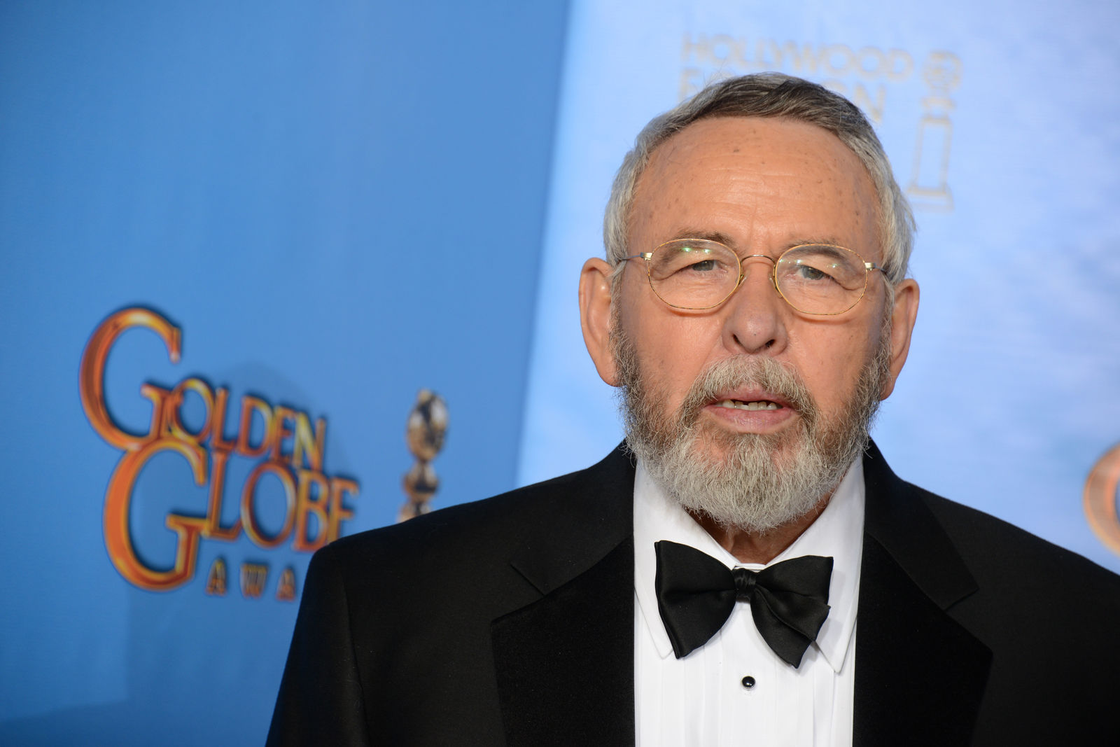 Retired CIA technical operations officer Tony Mendez poses backstage at the 70th Annual Golden Globe Awards at the Beverly Hilton Hotel on Sunday Jan. 13, 2013, in Beverly Hills, Calif. (Photo by Jordan Strauss/Invision/AP)