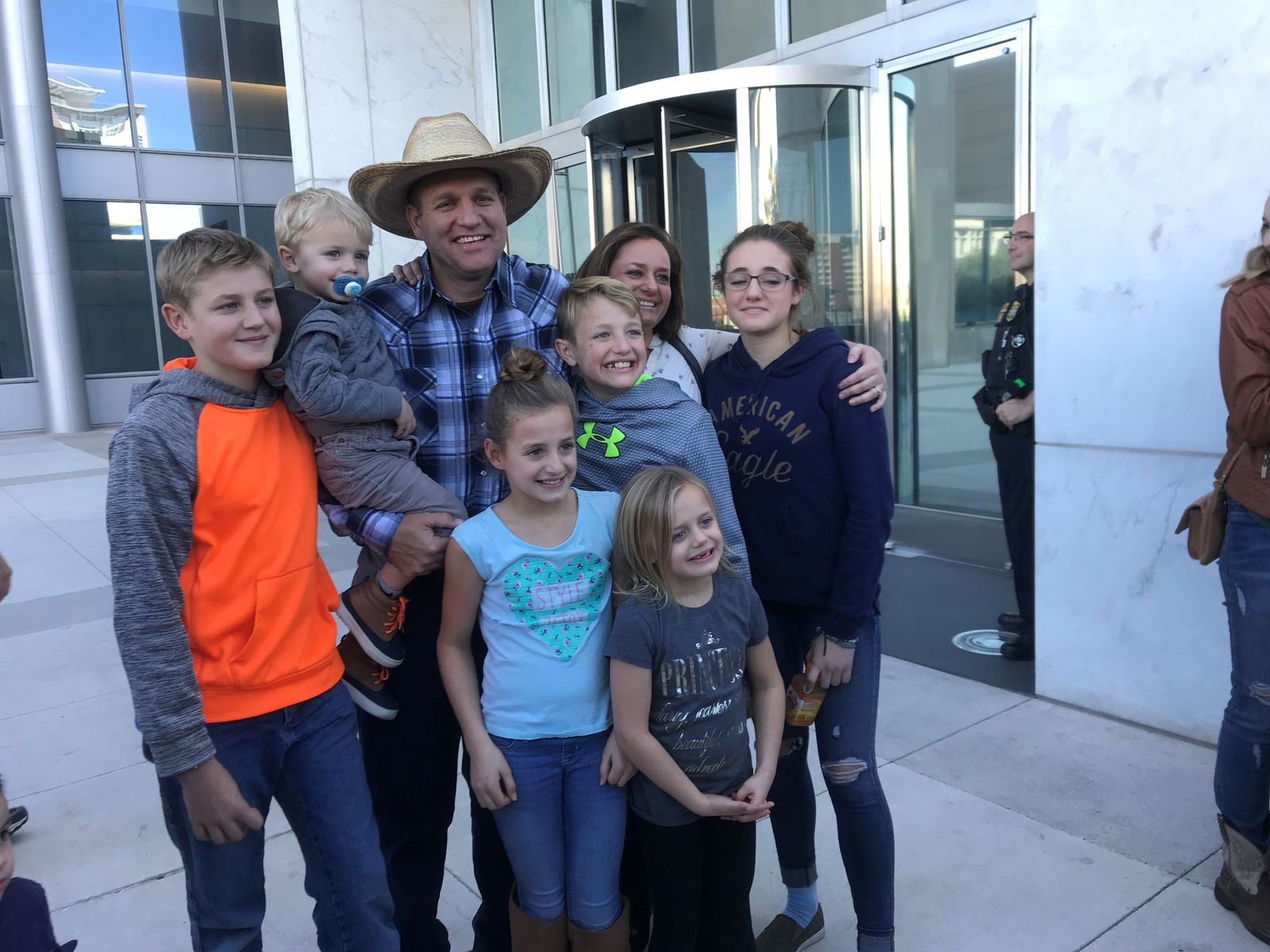 Ammon Bundy has been released from federal custody. (KSNV/Nathan O'Neal)