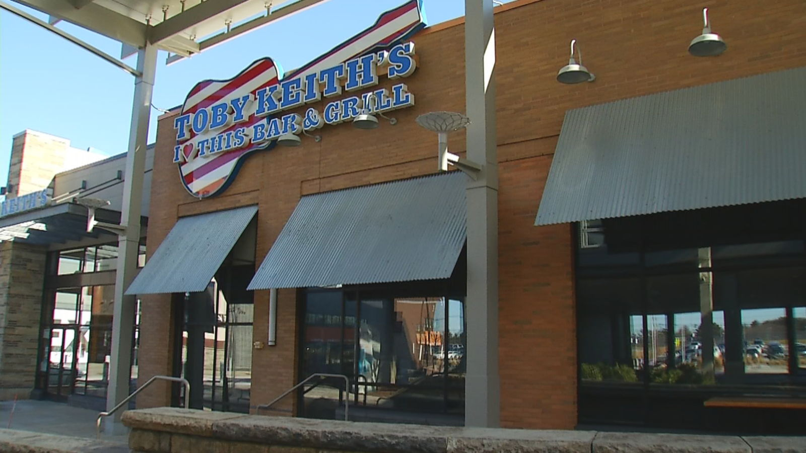 Toby Keith's I Love This Bar and Grill at Patriot Place in Foxborough has permanently closed. (WJAR)