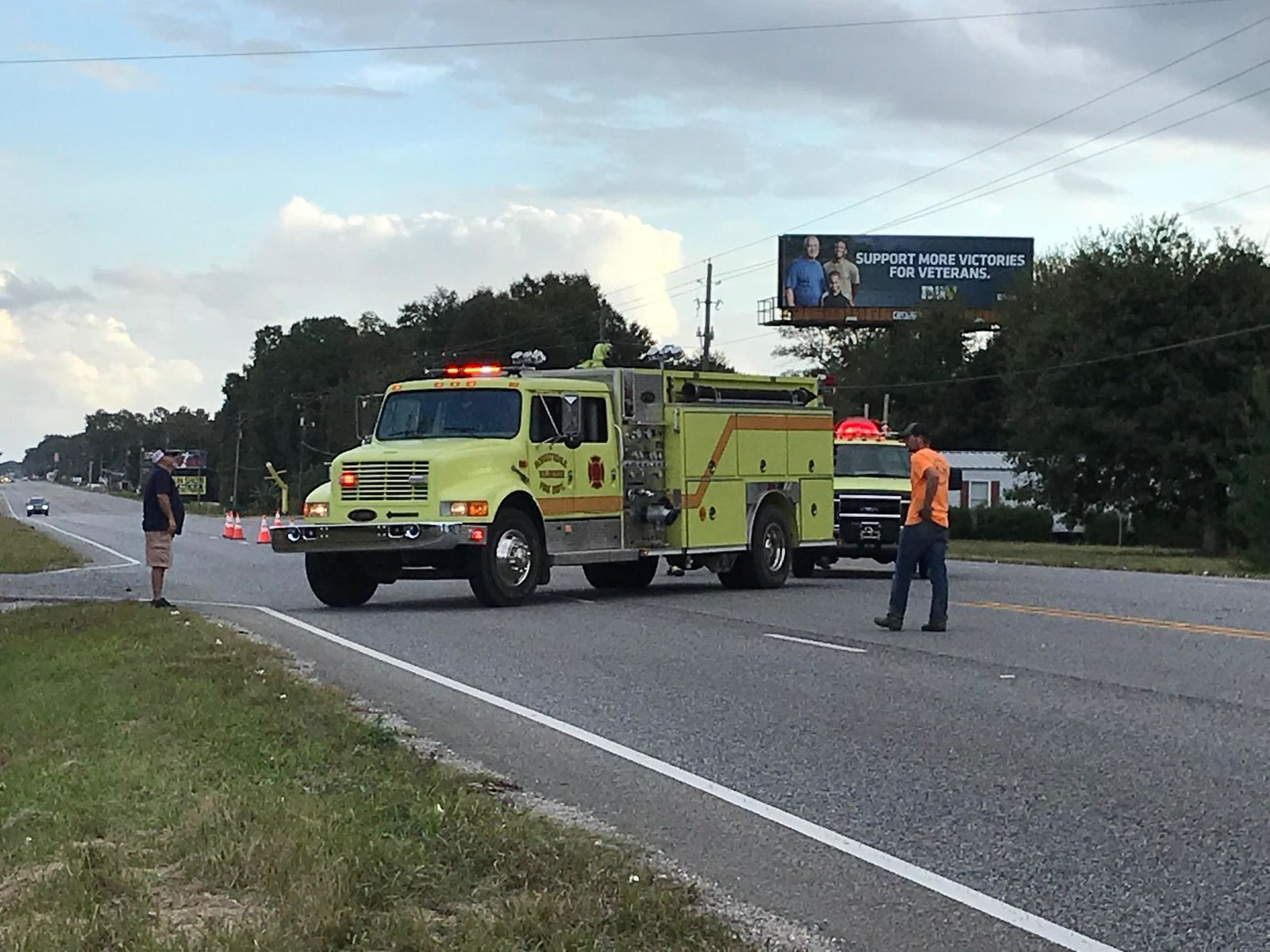 (WPMI) Police respond to head-on crash on Hwy 59 in Loxley