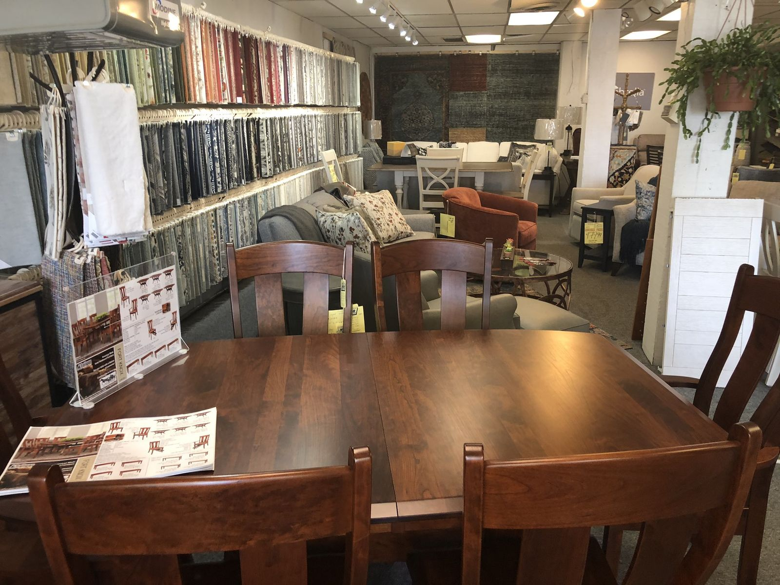 Hub Furniture in Portland is one of many retail stores with ownership looking forward to reopening on June 1. (WGME)<p></p>